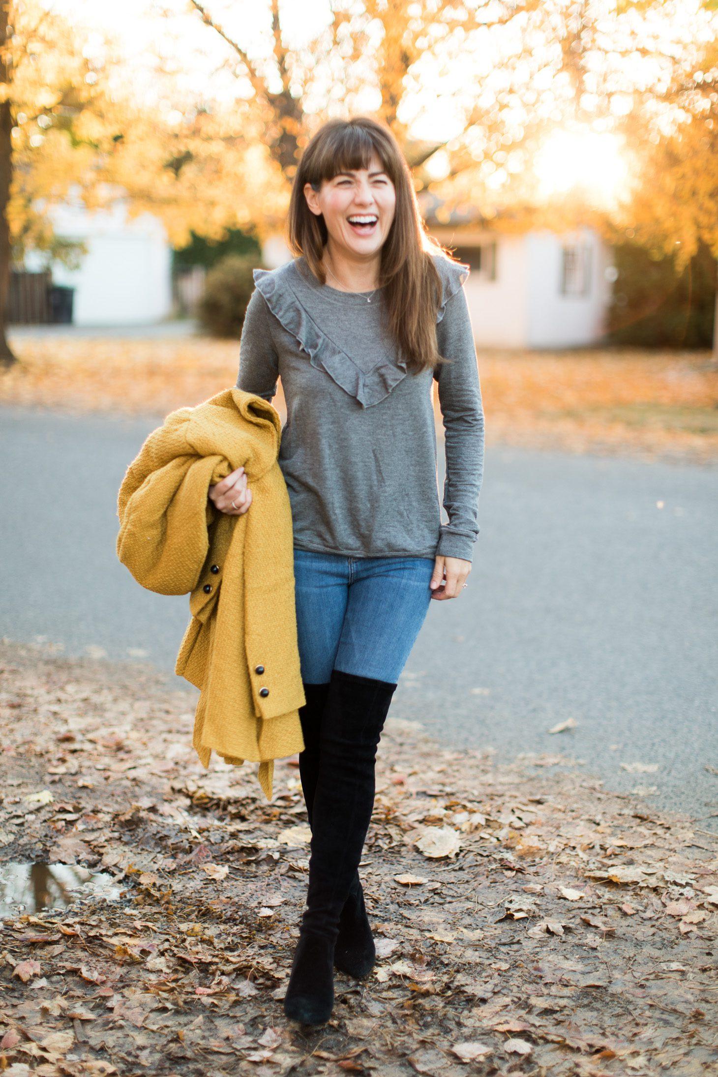 Jillian Harris Fall Fashion Outfits