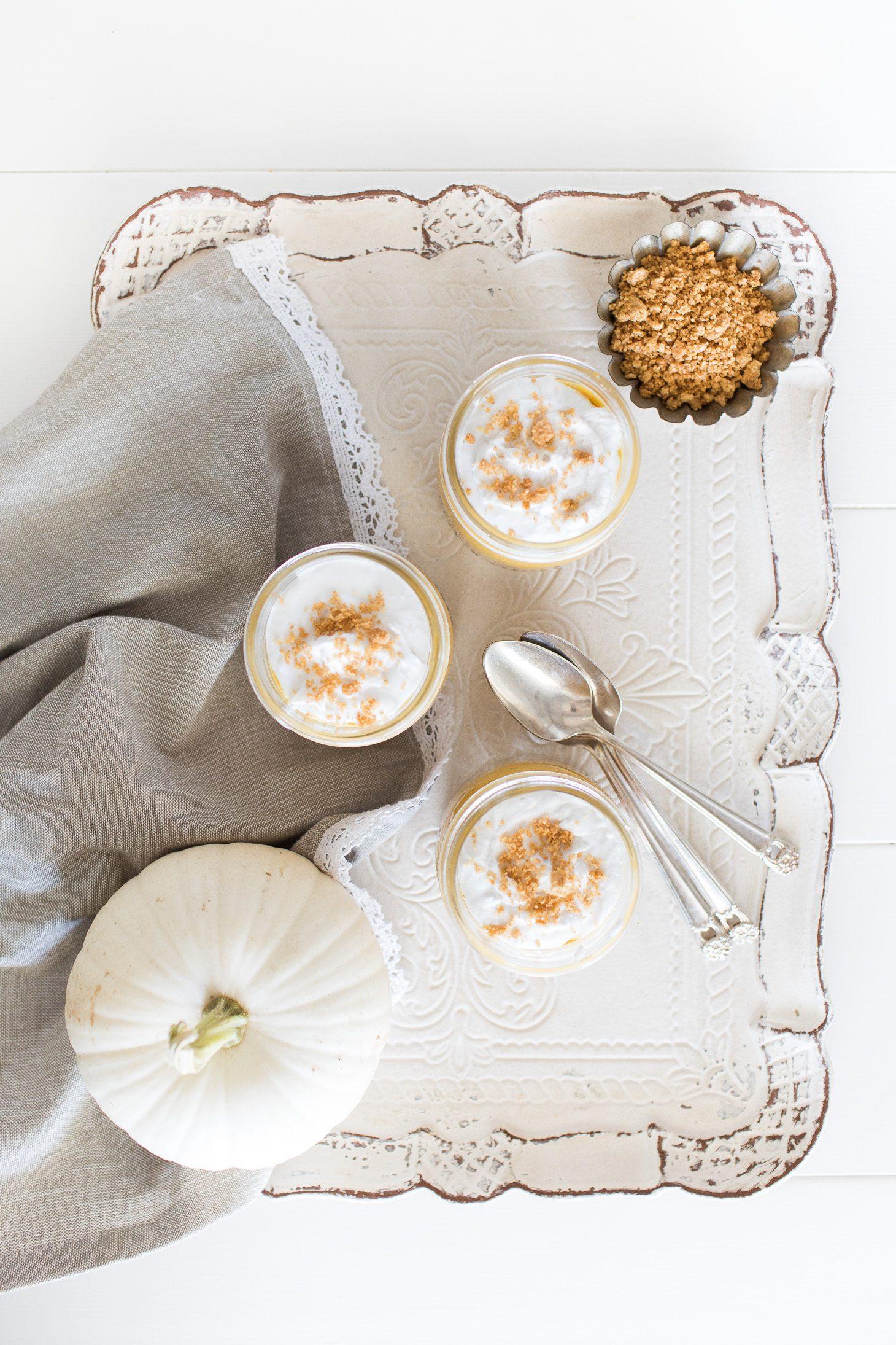 Jillian Harris Vegan Pumpkin Cheesecake
