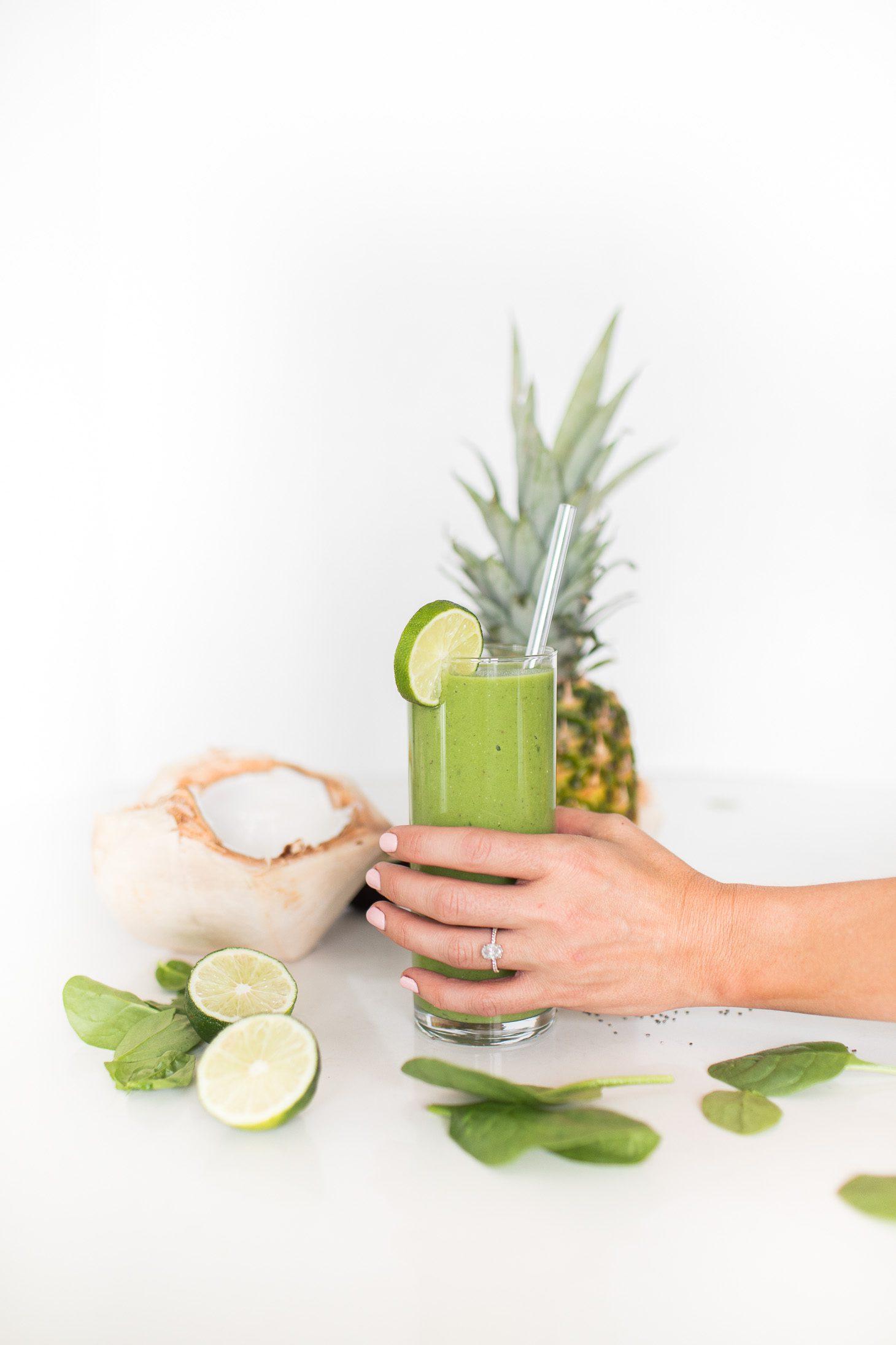 Jillian Harris Daily Green Smoothie Recipe