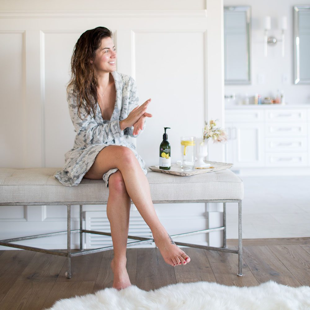 Jillian Harris Avalon Organics Lemon Lotion