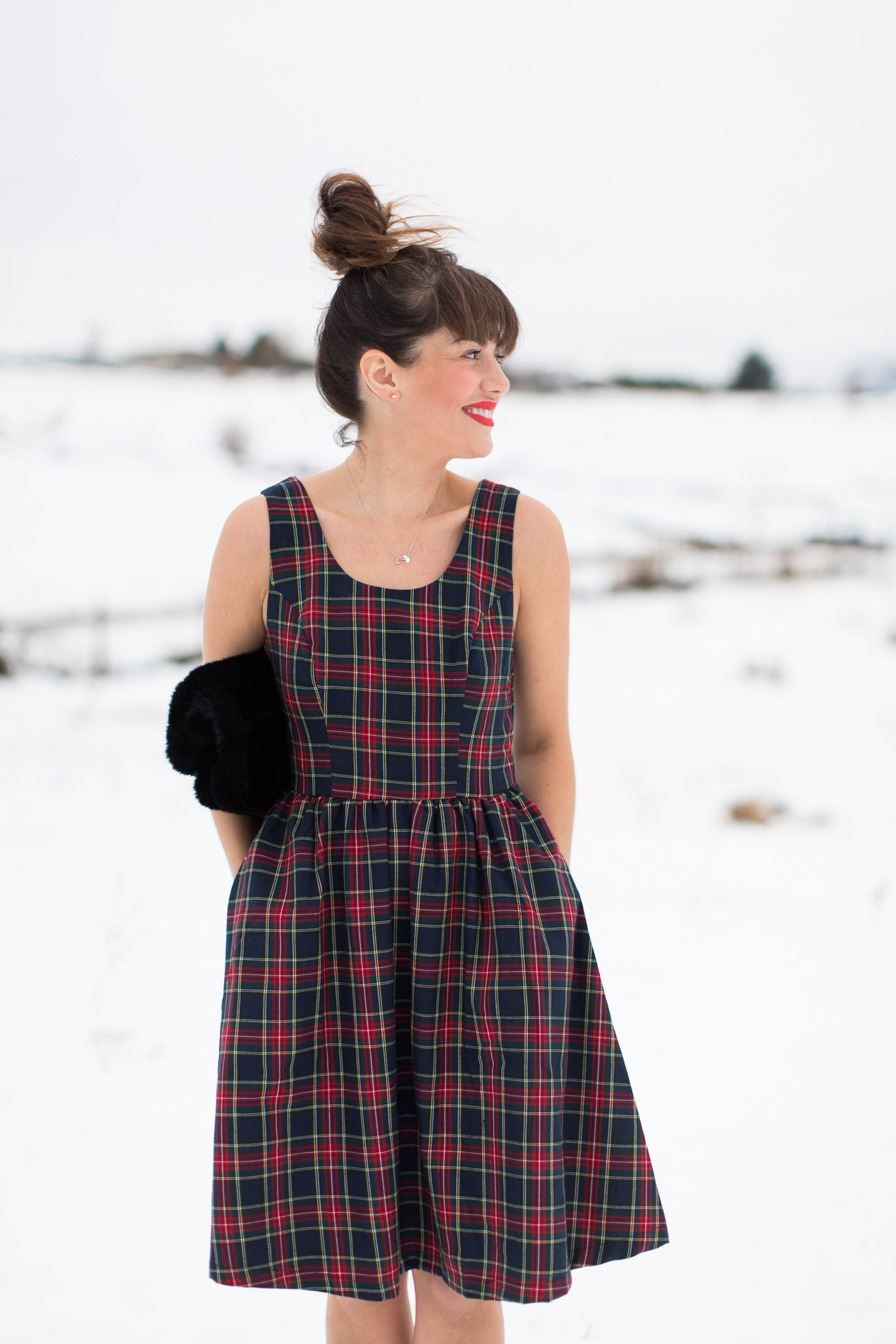 Jillian Harris ModCloth Holiday Dresses