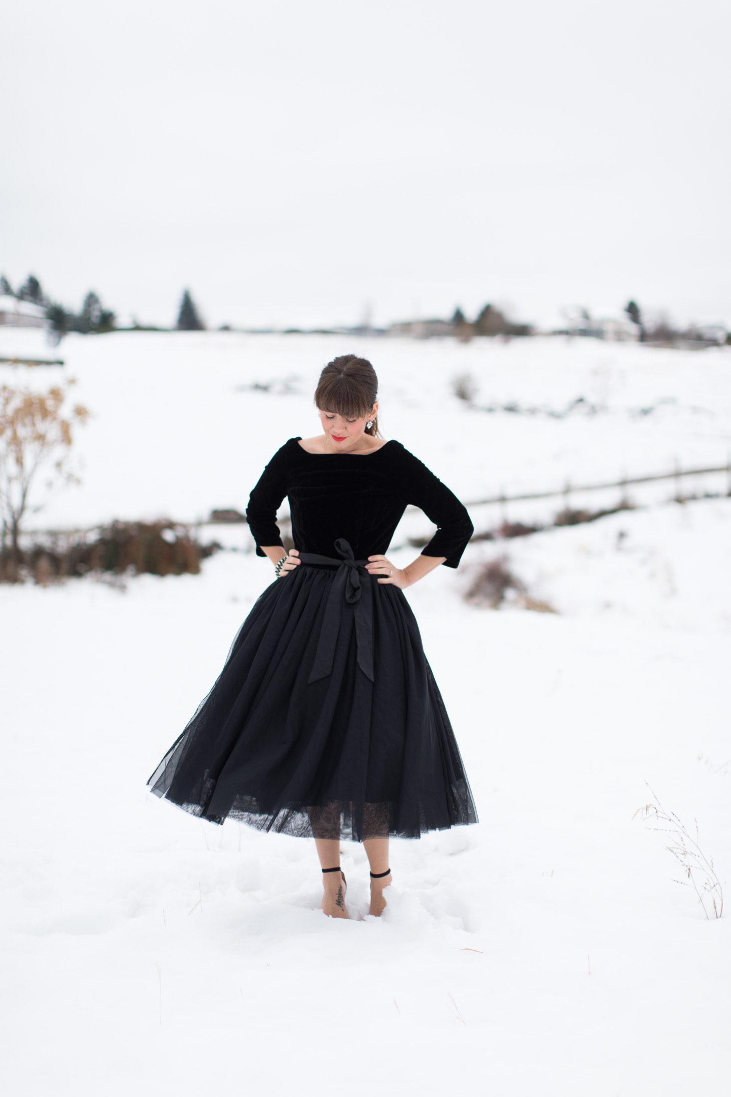 Jillian Harris ModCloth Holiday Dresses