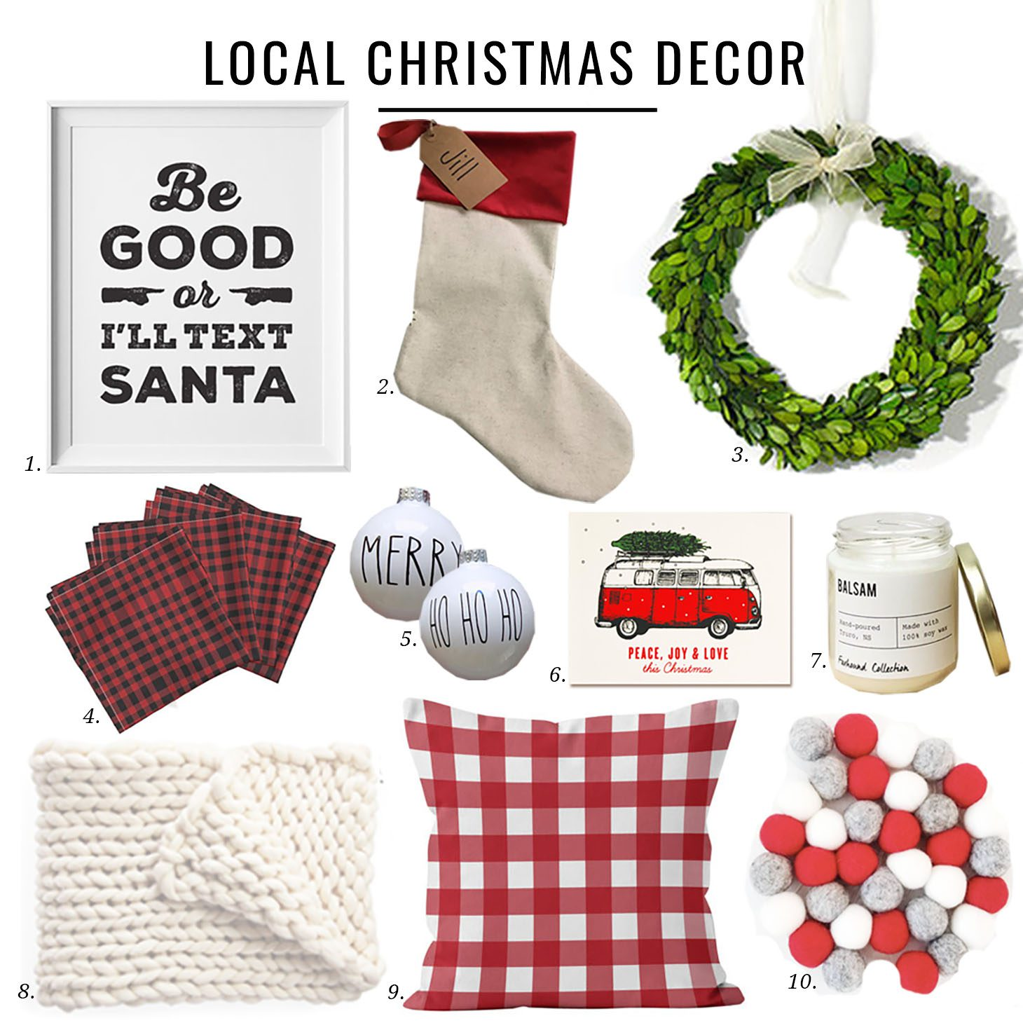 Local Christmas Decor