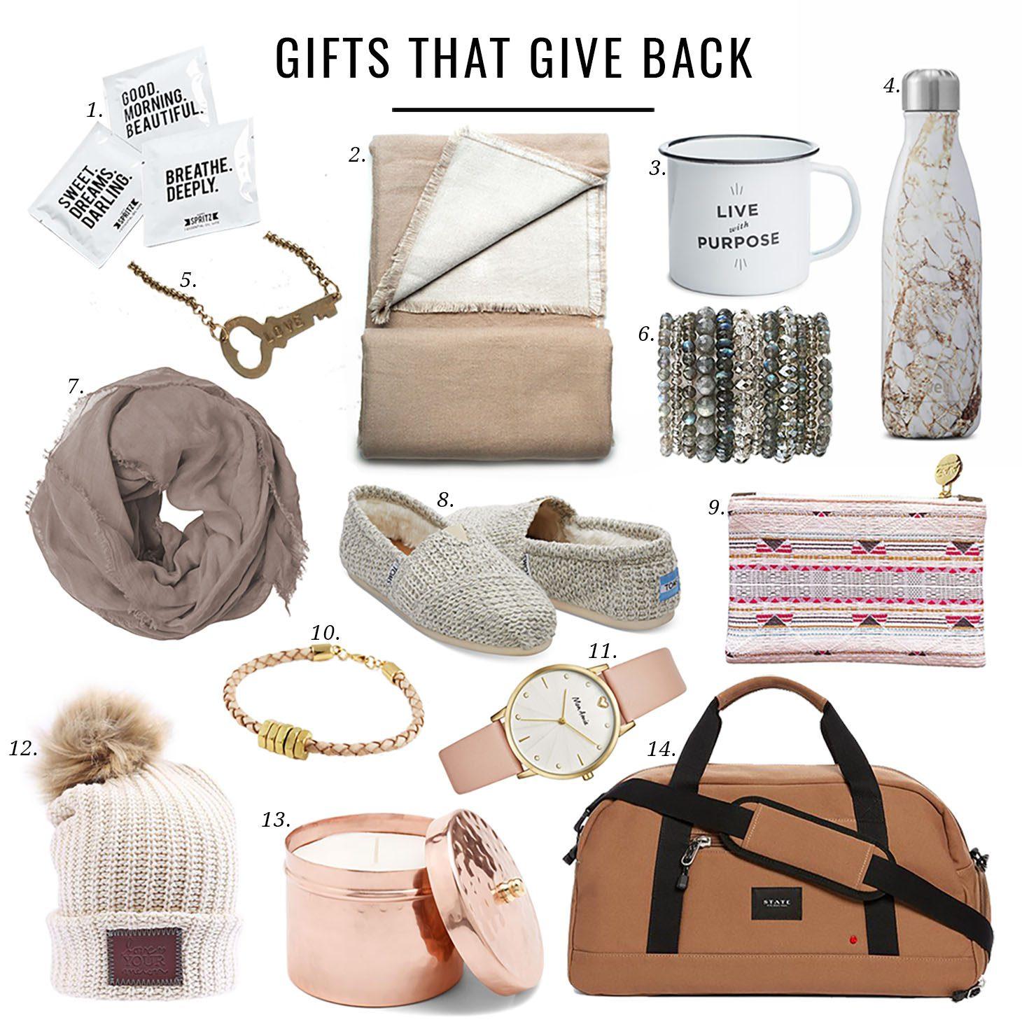 Jillian Harris Gifts that Give Back Gift Guide
