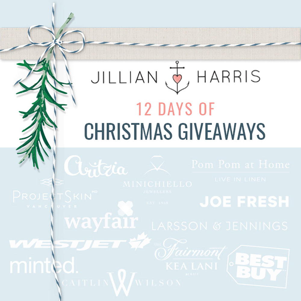 Santa Jilly\'s 12 Days of Christmas Giveaways is Back!