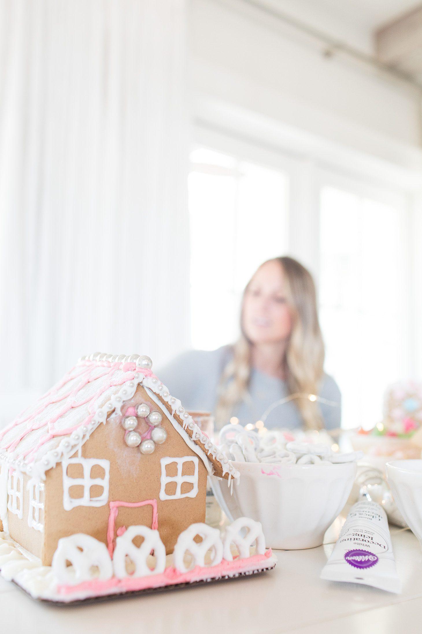 Jillian Harris Gingerbread House Decorating Tips