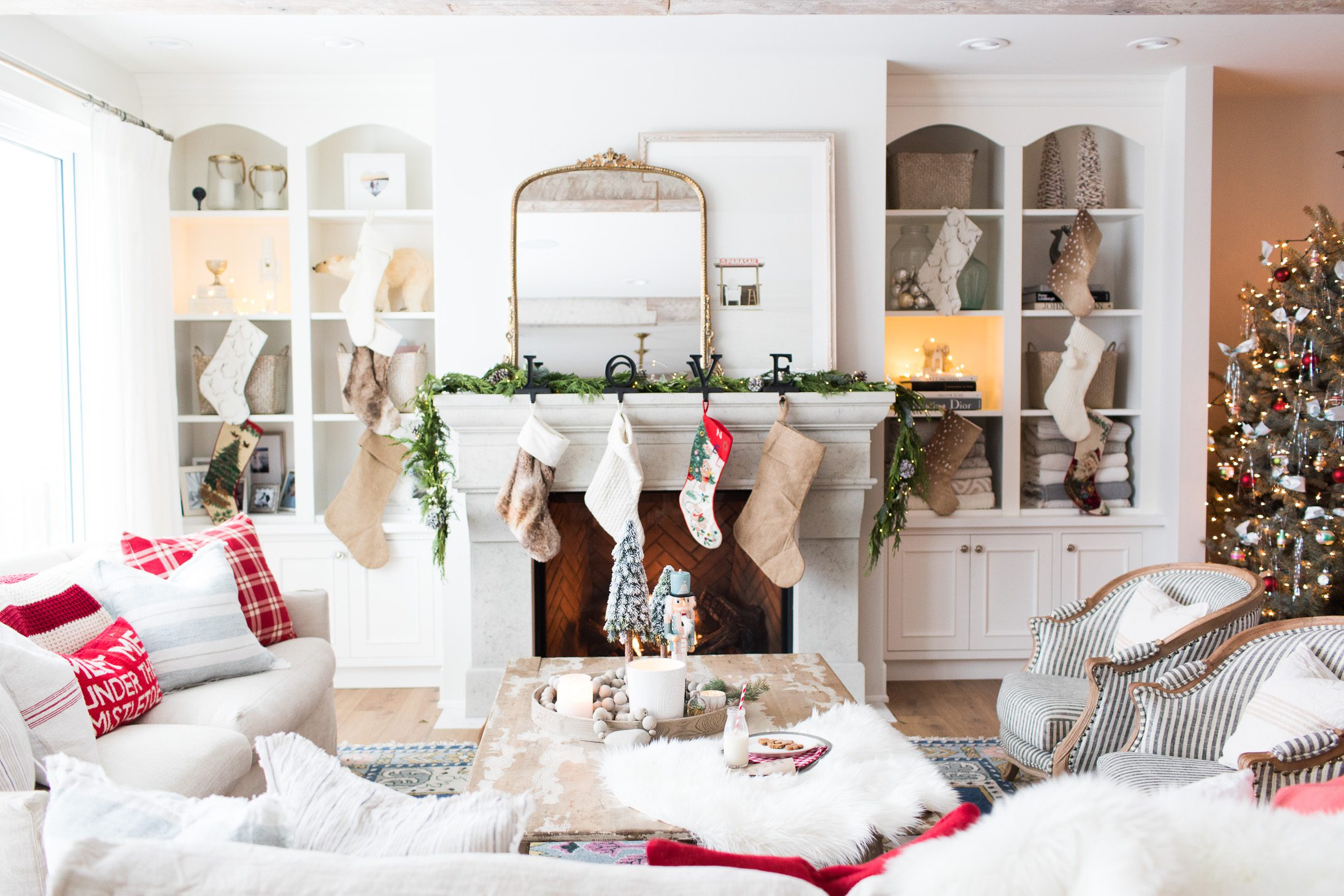 How I Decorated Our Home For Christmas