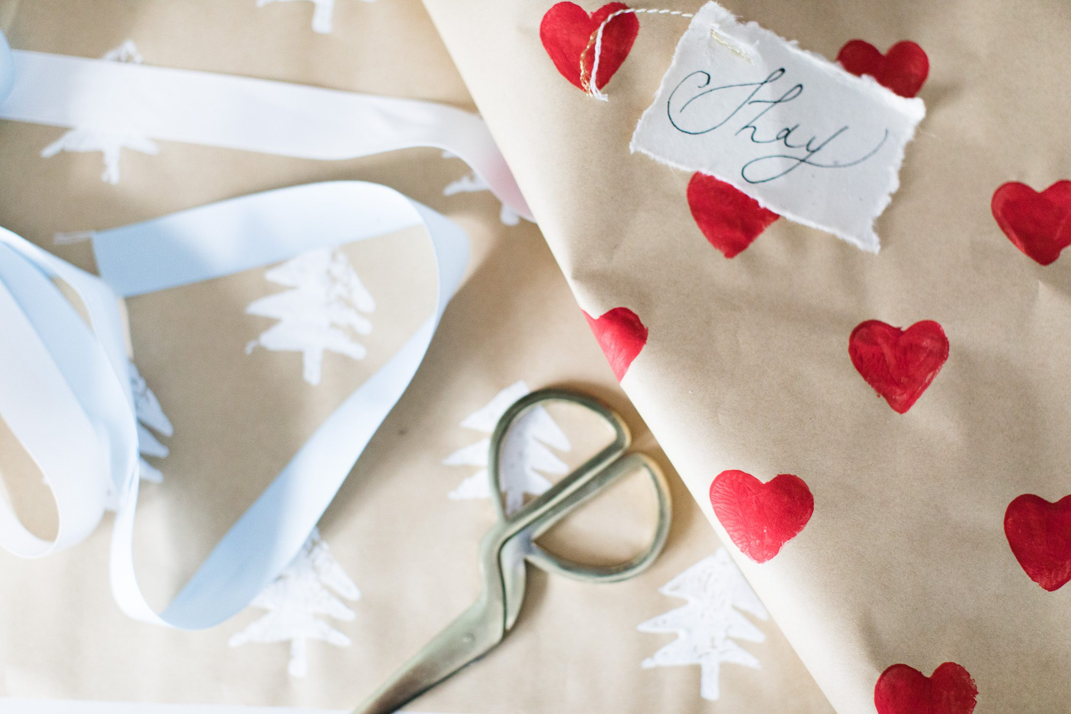 Jillian Harris DIY Wrapping Paper
