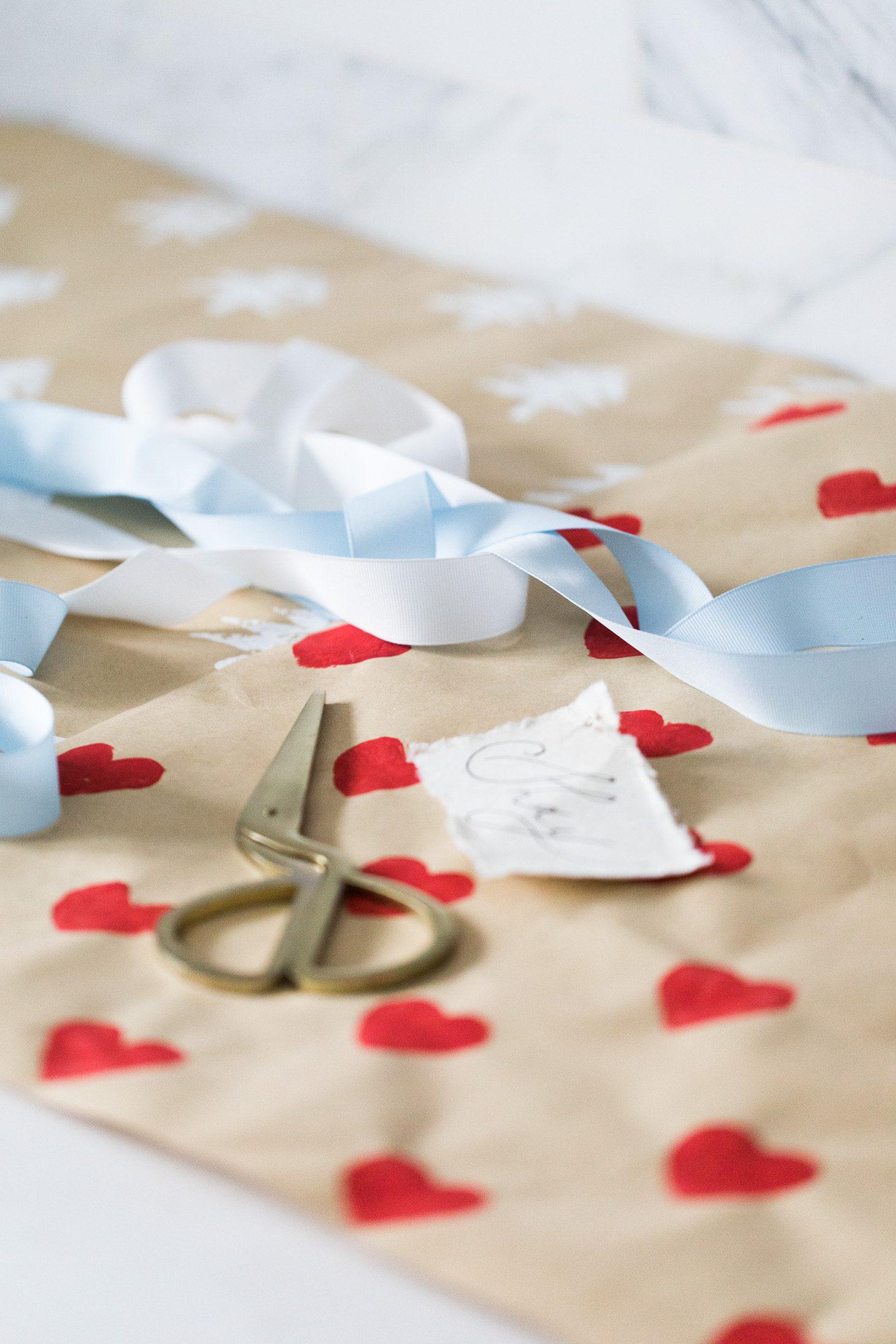 Jillian Harris DIY Wrapping Paper