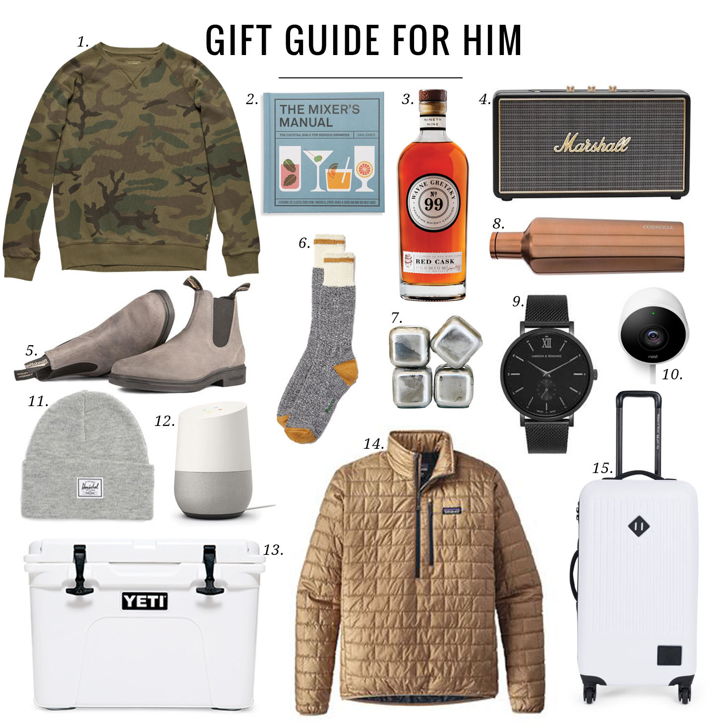 Jillian Harris Mens Gift Guide