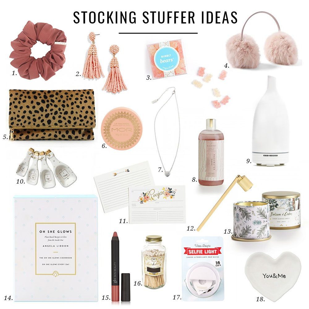 Jillian Harris Stocking Stuffer Ideas