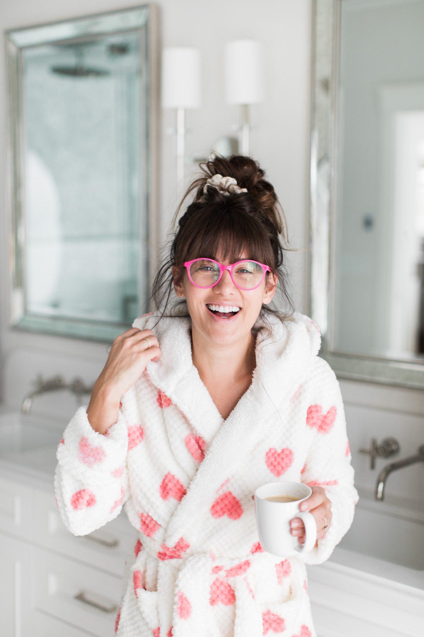 Jillian Harris Valentine's Day Outfits