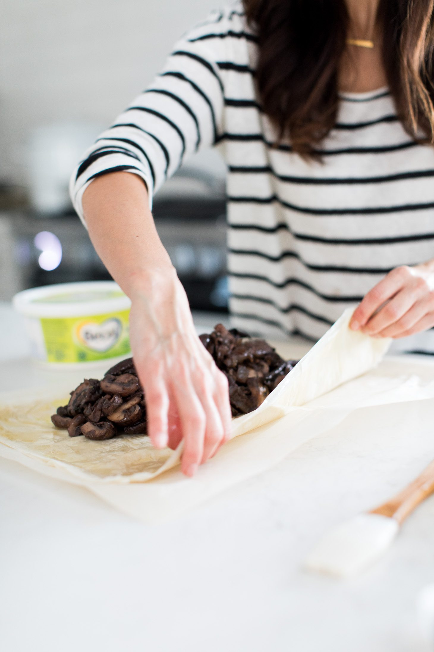 Jillian Harris Vegan Mushroom Wellington Becel