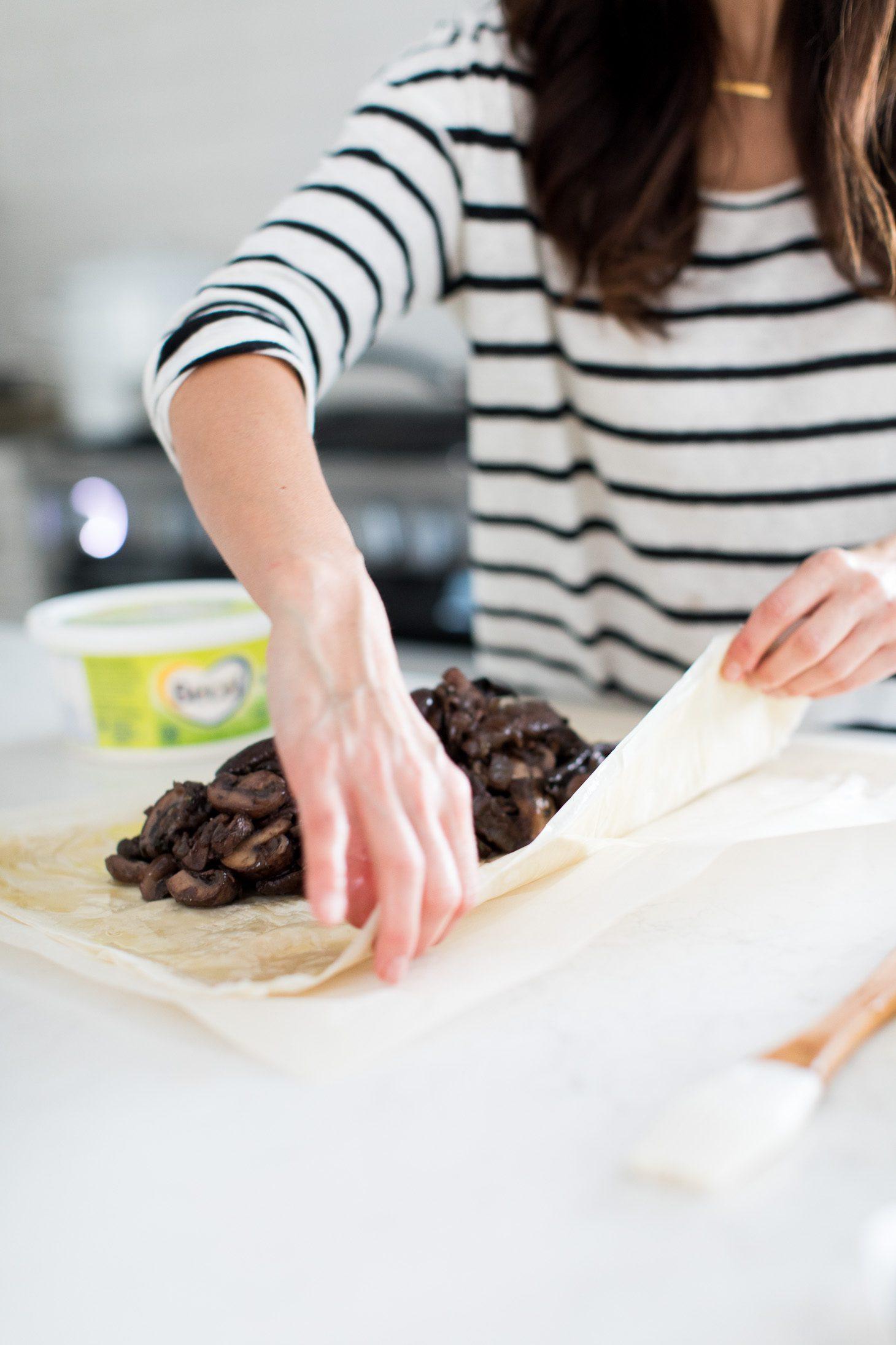 Jillian Harris Vegan Mushroom Wellington Becel