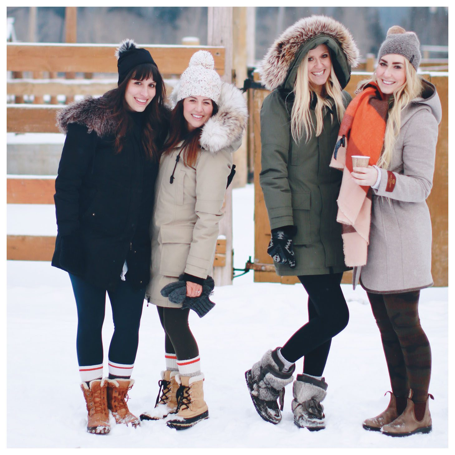Jillian Harris Girls Getaway in Banff