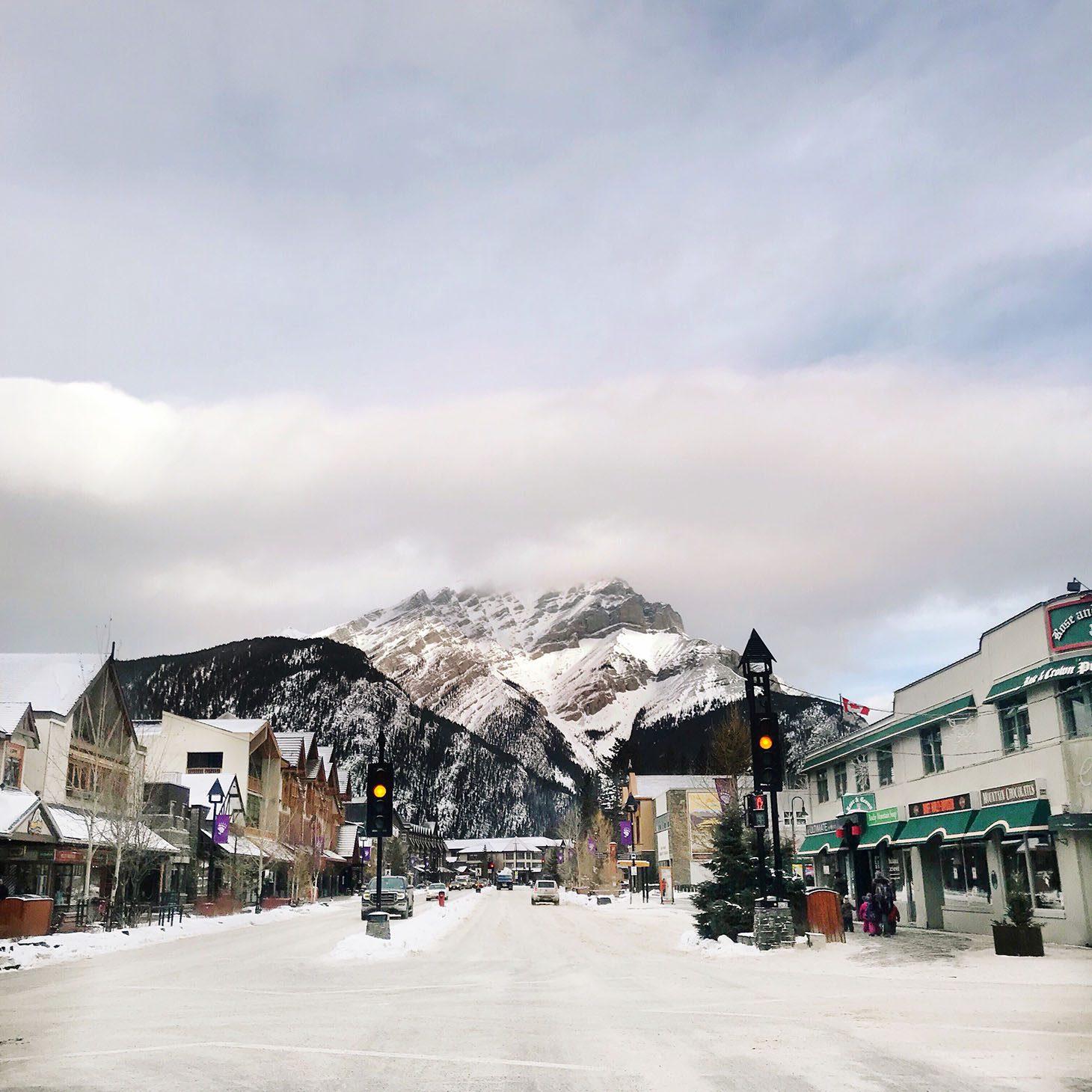 Jillian Harris Girls Getaway in Banff