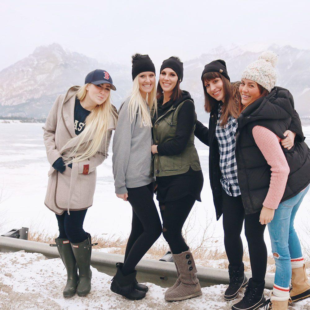 The Perfect Girls Banff Getaway