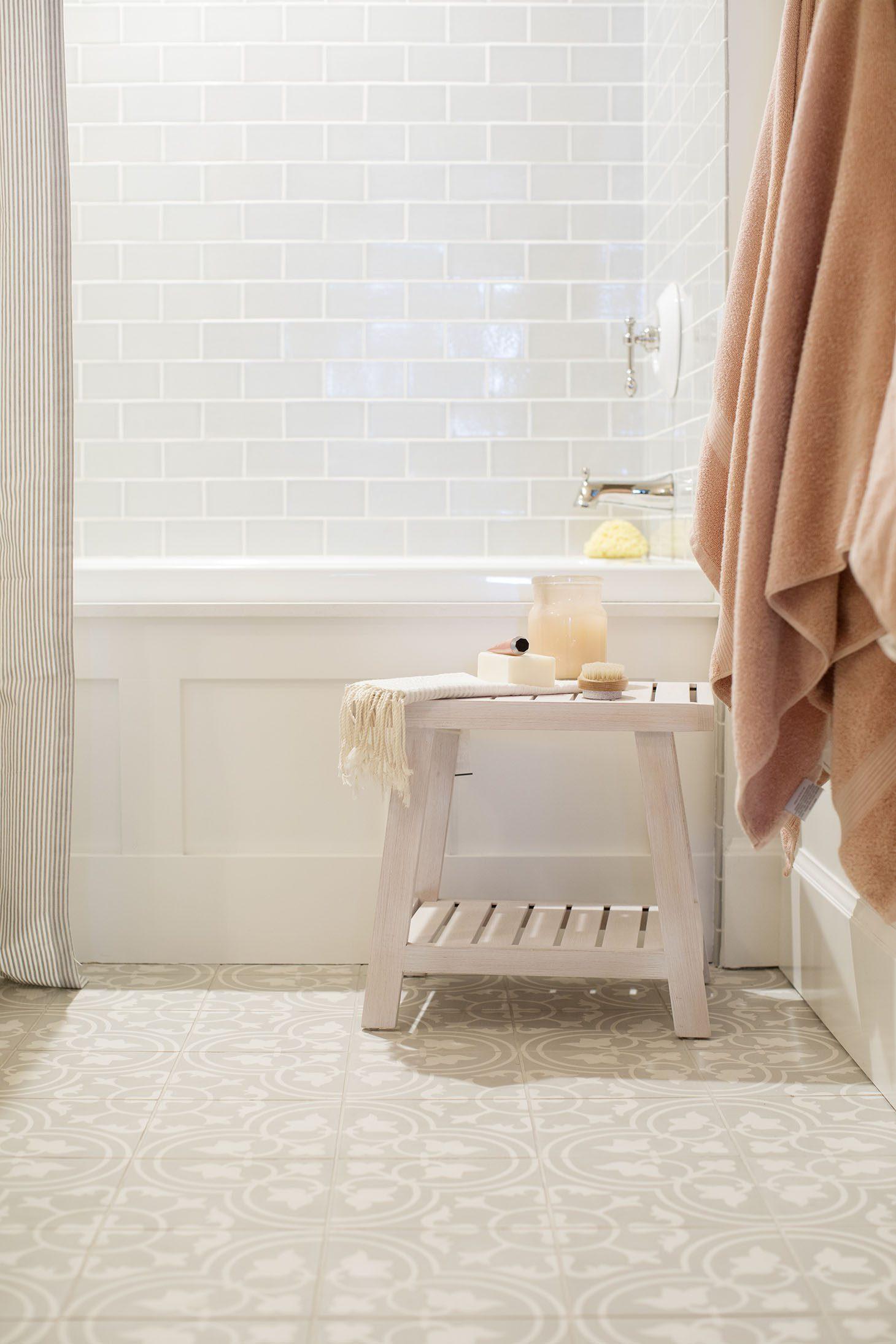 Jillian Harris Home Tour Series Spare Bedroom and Bathroom