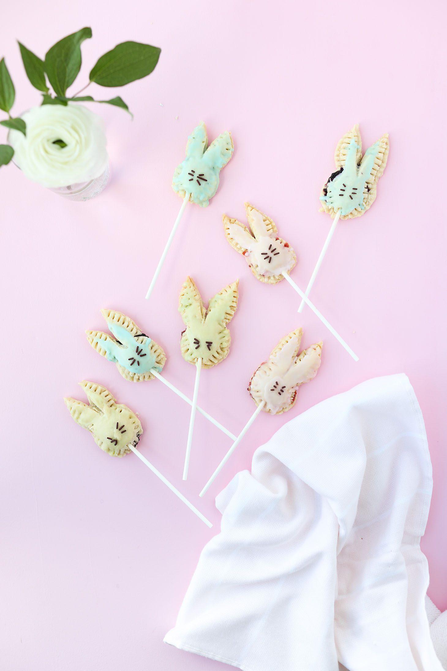Jillian Harris Vegan Easter Bunny Pop Tarts