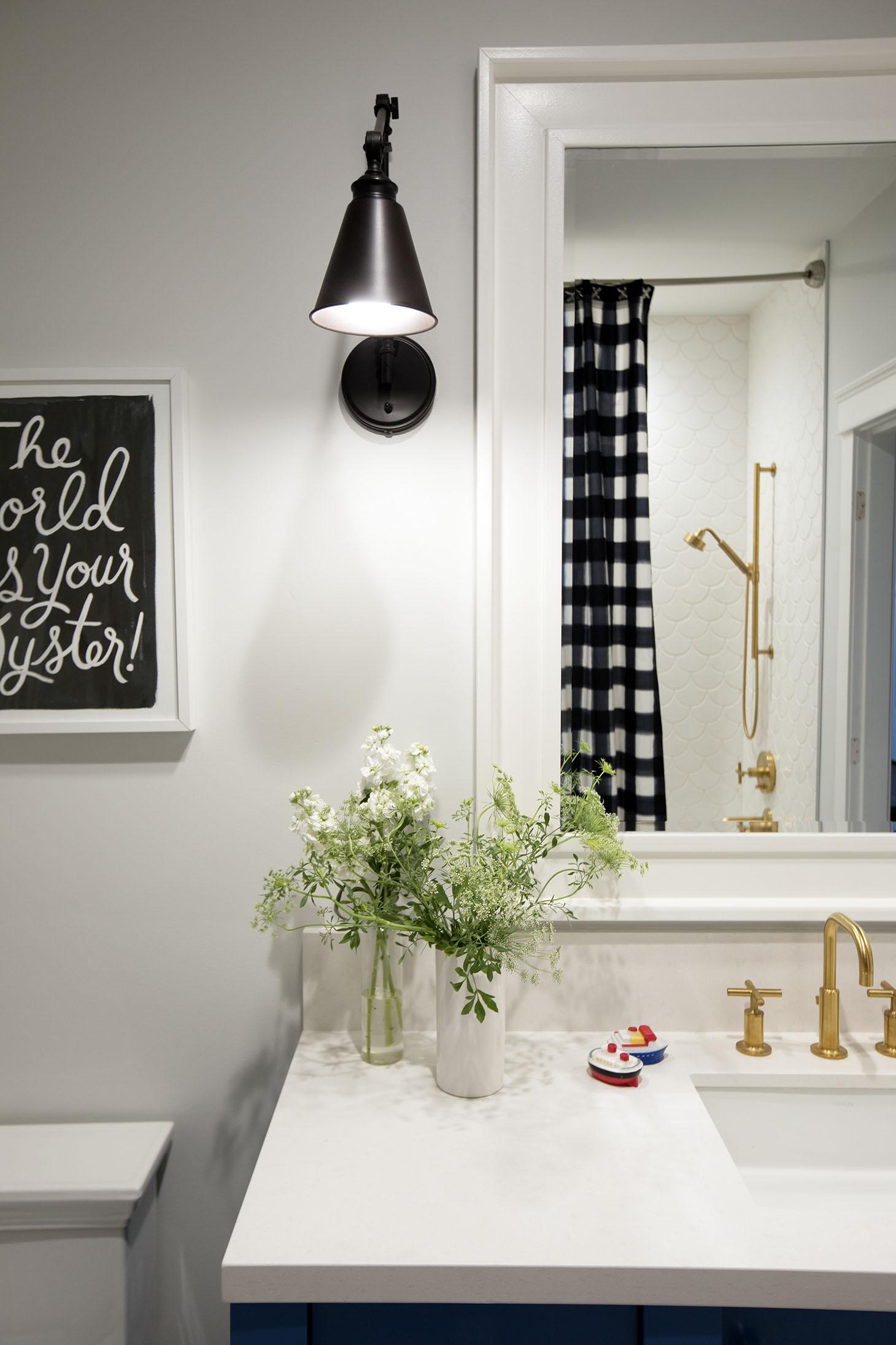Jillian Harris Home Tour Series Leos Bathroom and Bedroom