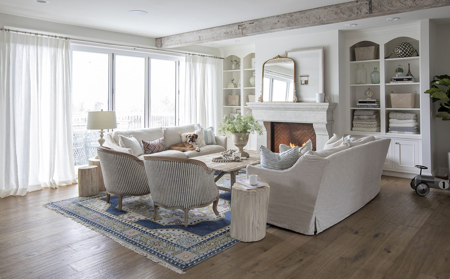 Jillian Harris Home Tour Series Living Room