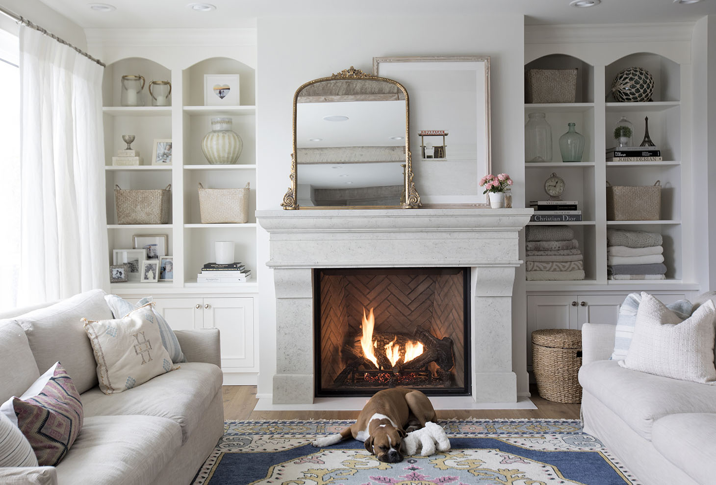 Home Tour Series: Living Room | Jillian Harris | Bloglovin\'