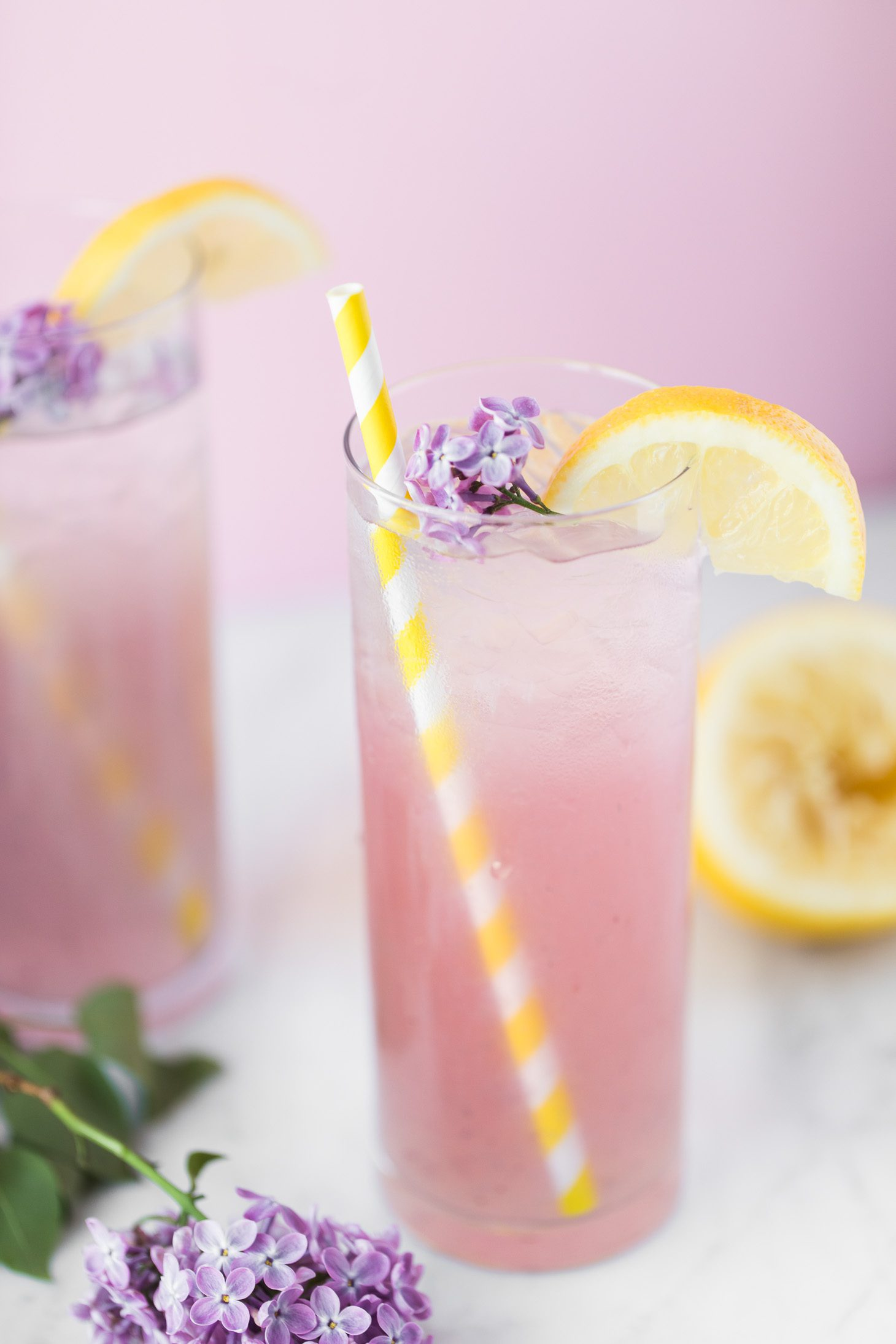 Jillian Harris Spiked Blackberry Lemonade