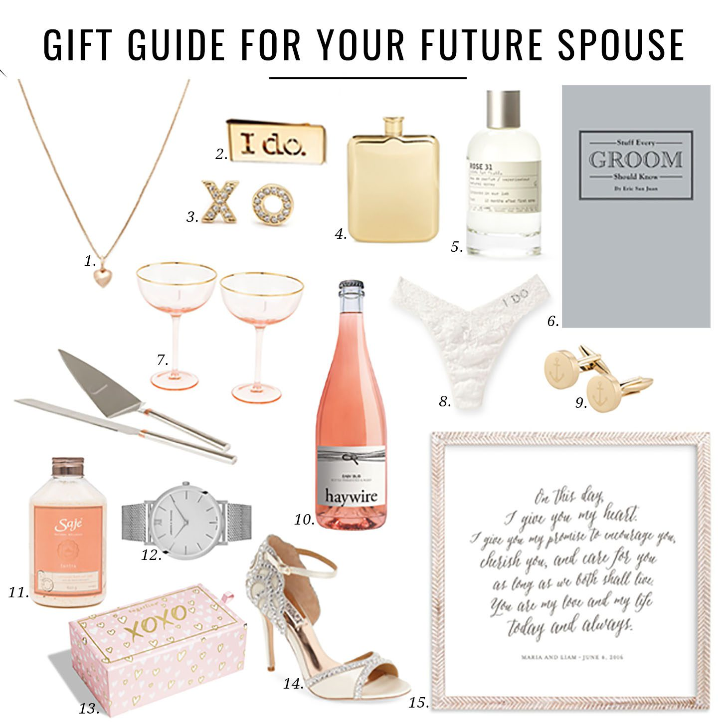 Jillian Harris Gift Guide for Your Future Spouse