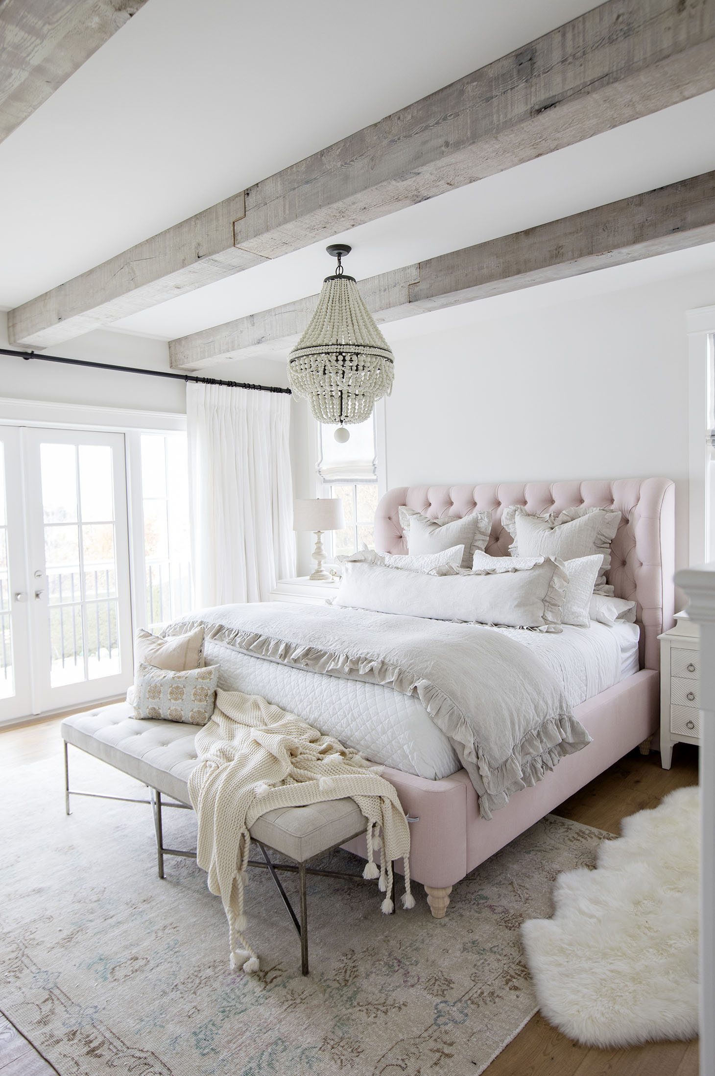 Jillian Harris Home Tour Series Master Bedroom