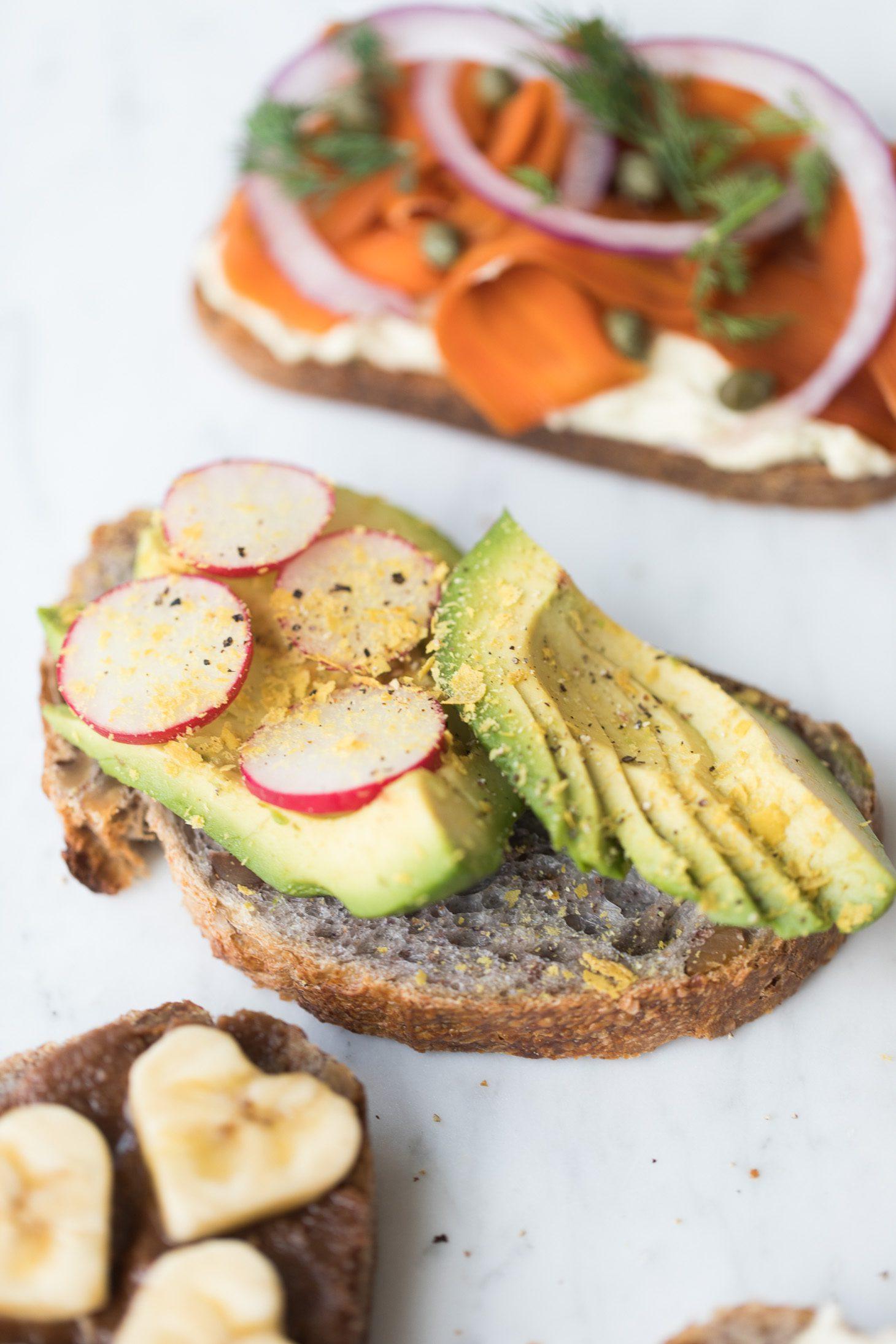 Jillian Harris Vegan Toast 4 Ways
