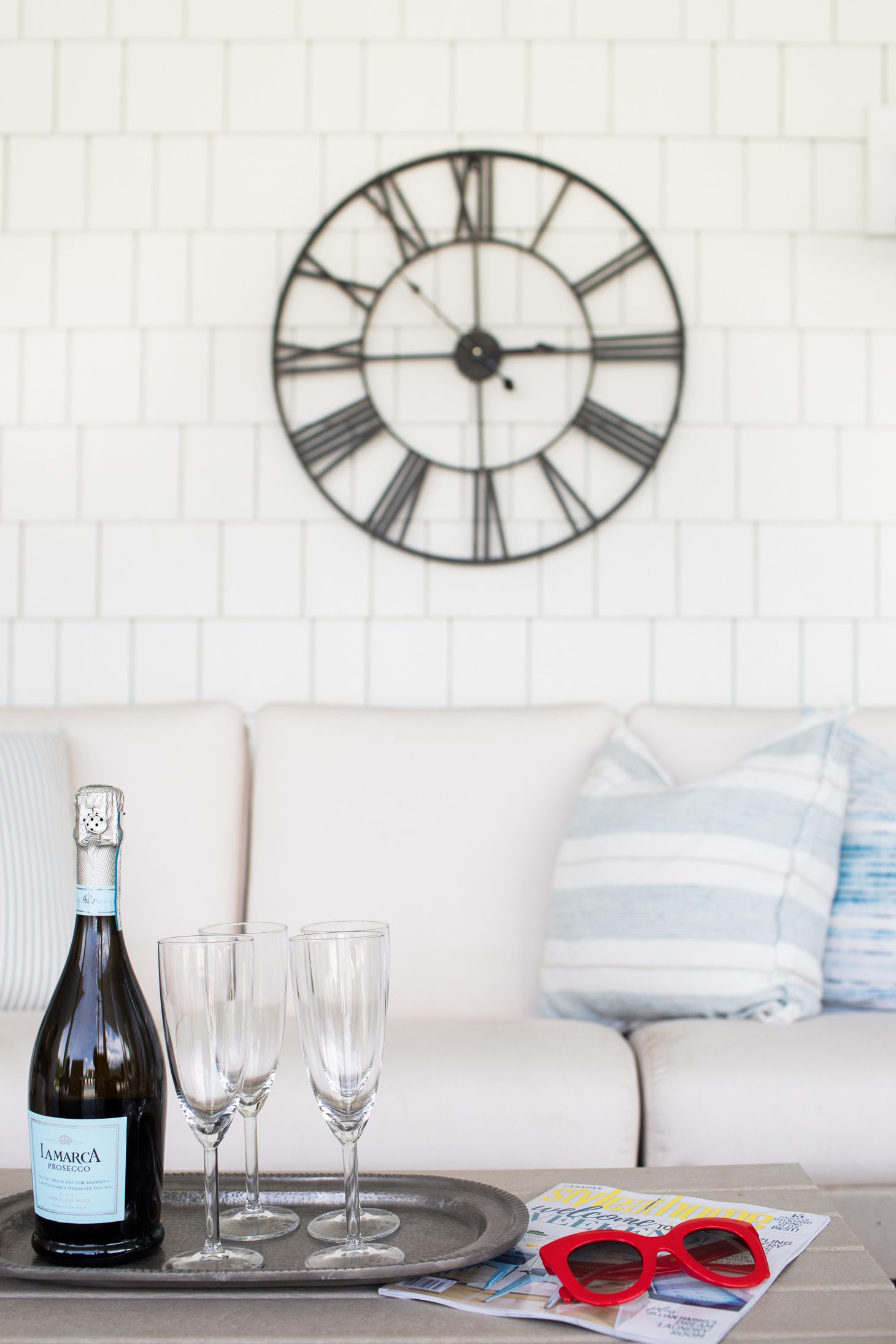 Jillian Harris Home Renovation Series Downstairs Patio
