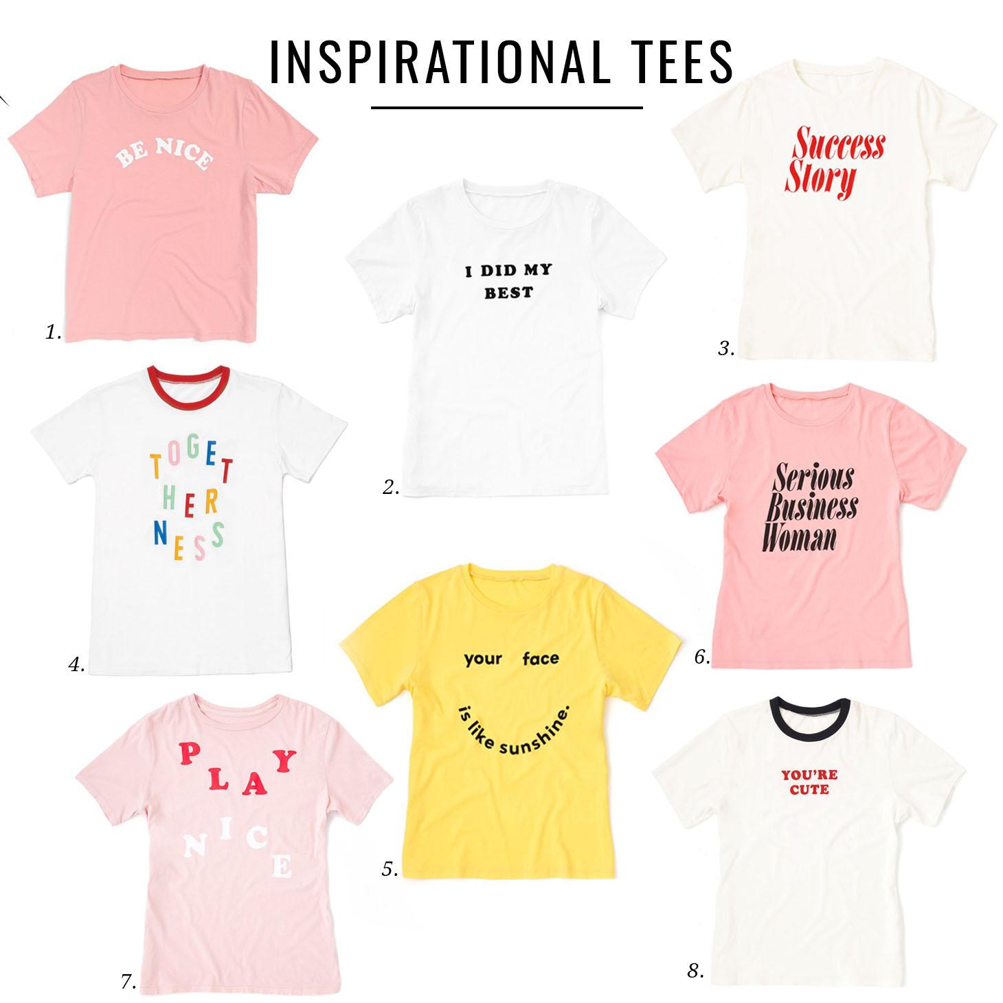 Jillian Harris Inspirational Tees