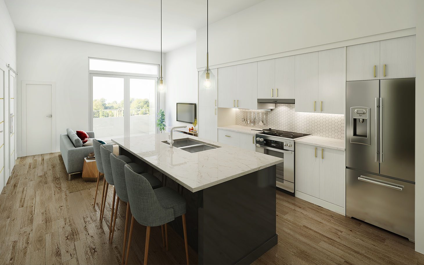 Jillian Harris Justins New St.Pauls Project