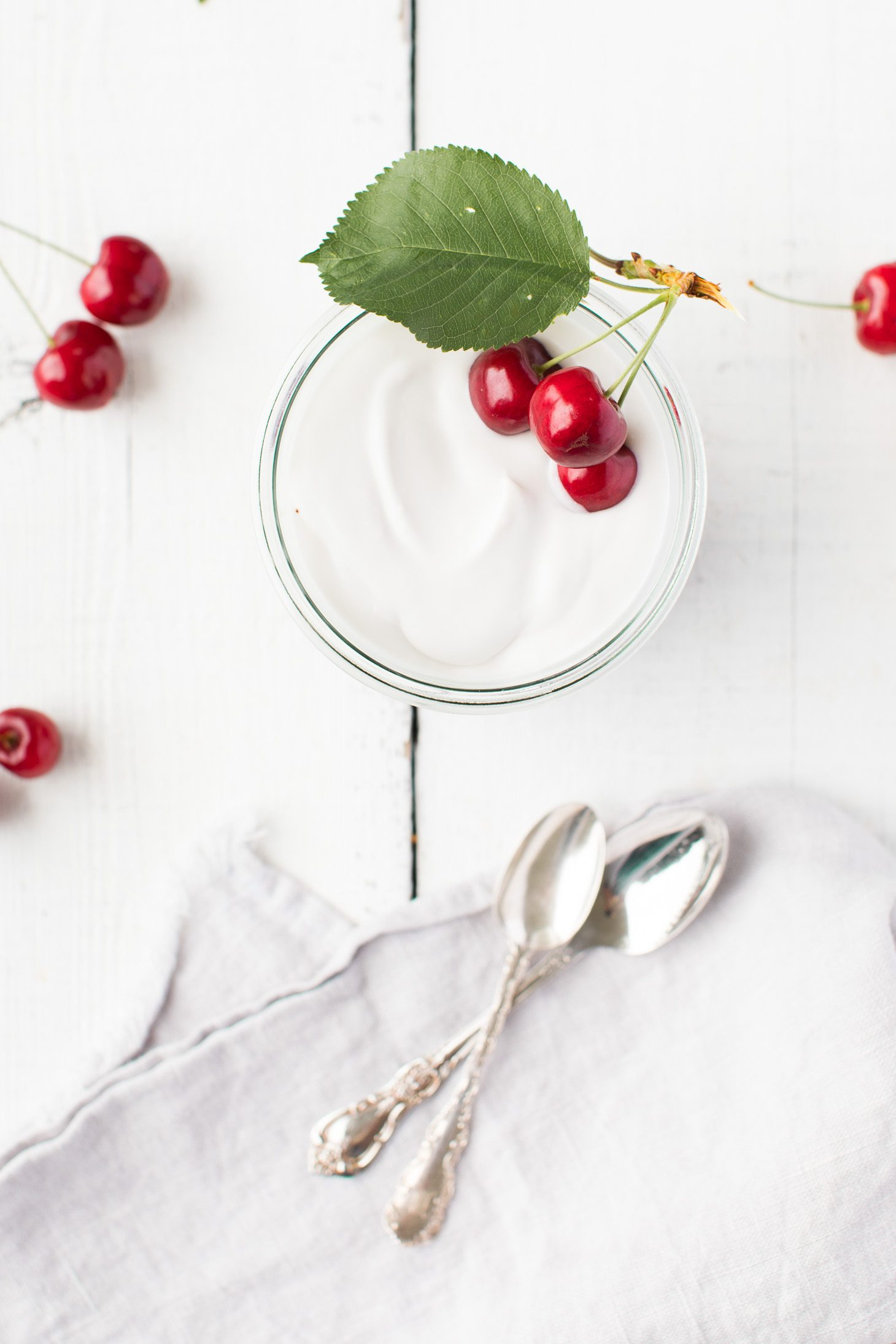 Jillian Harris Cherry Coconut Yogurt