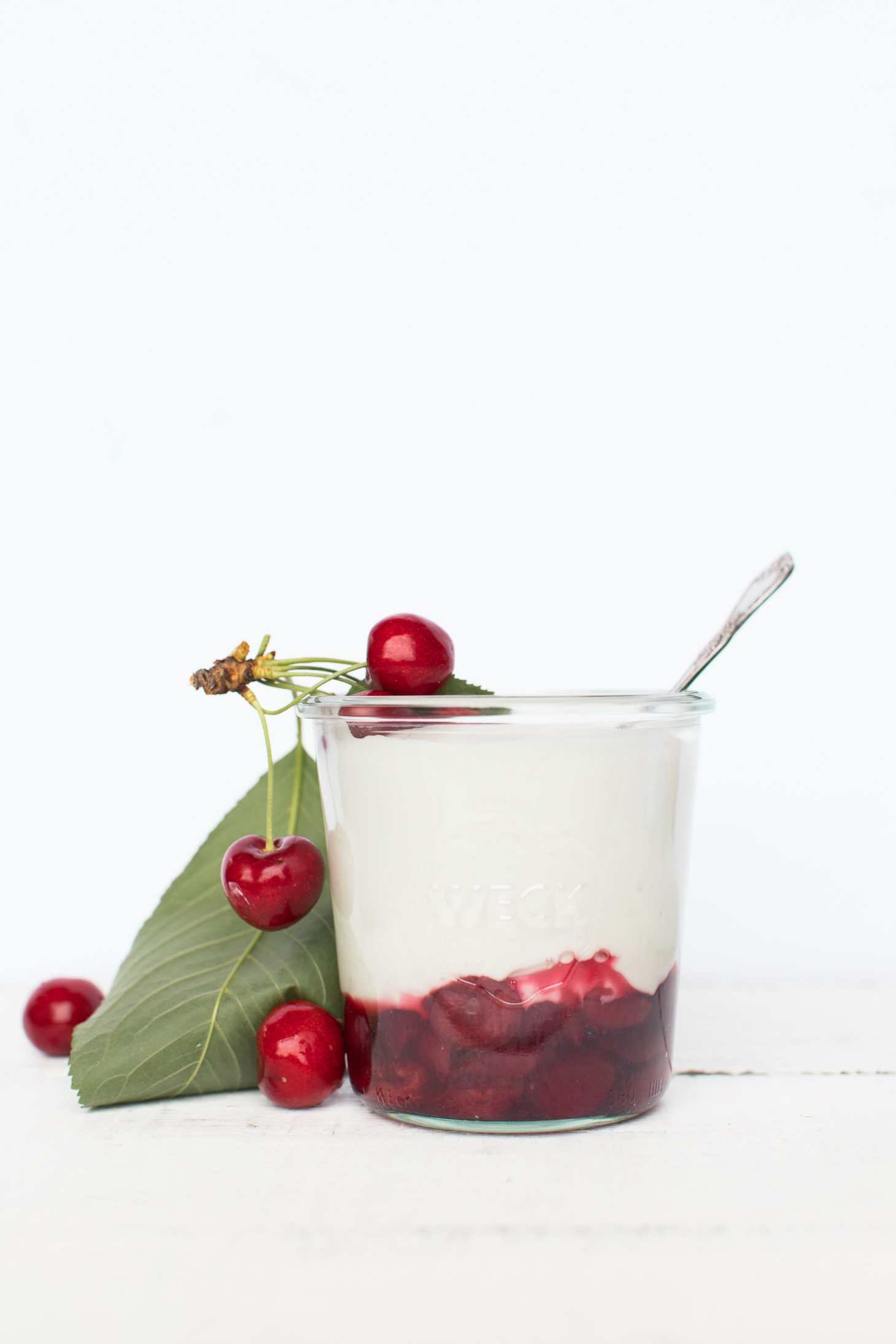 Jillian Harris Cherry Coconut Yogurt