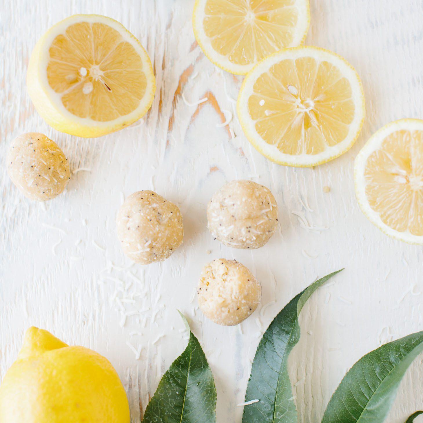 Lemon Coconut Poppy Seed Balls