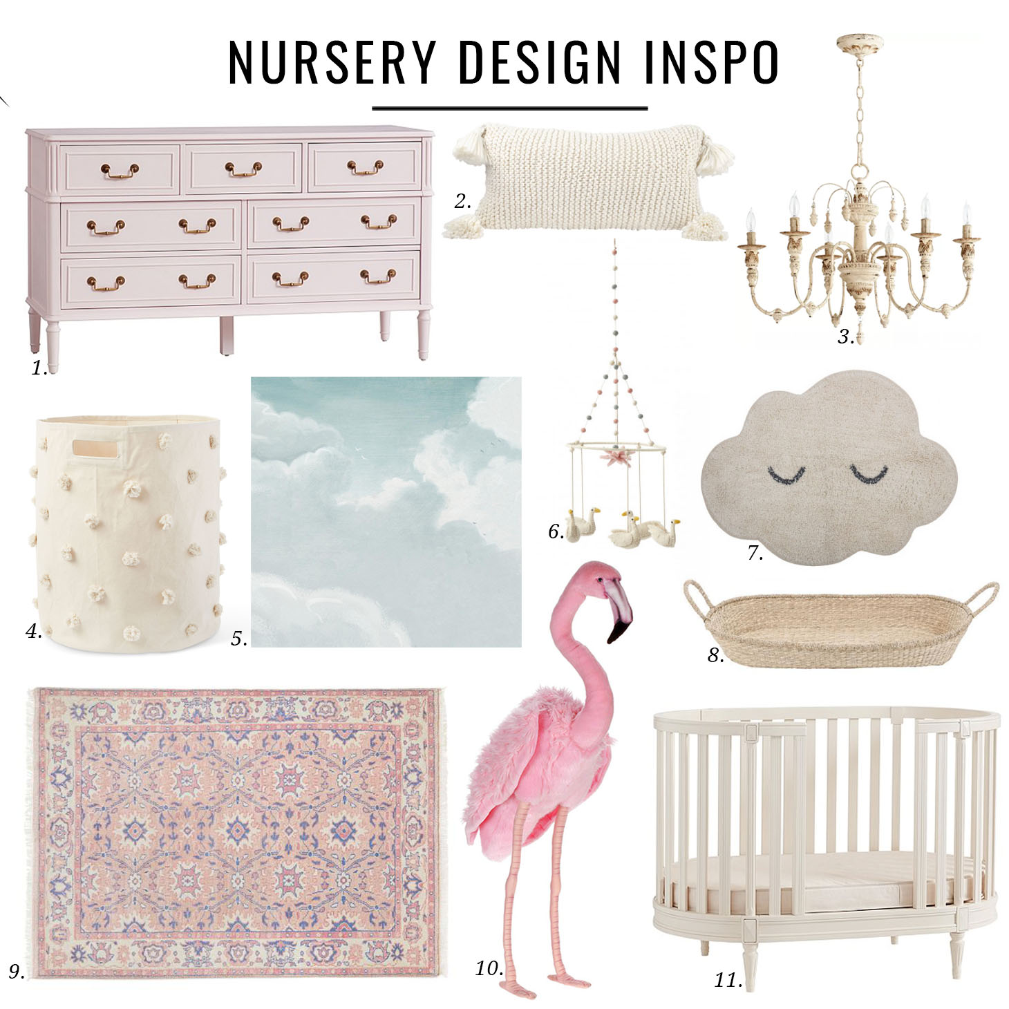 Jillian Harris Nursery Design Inspo