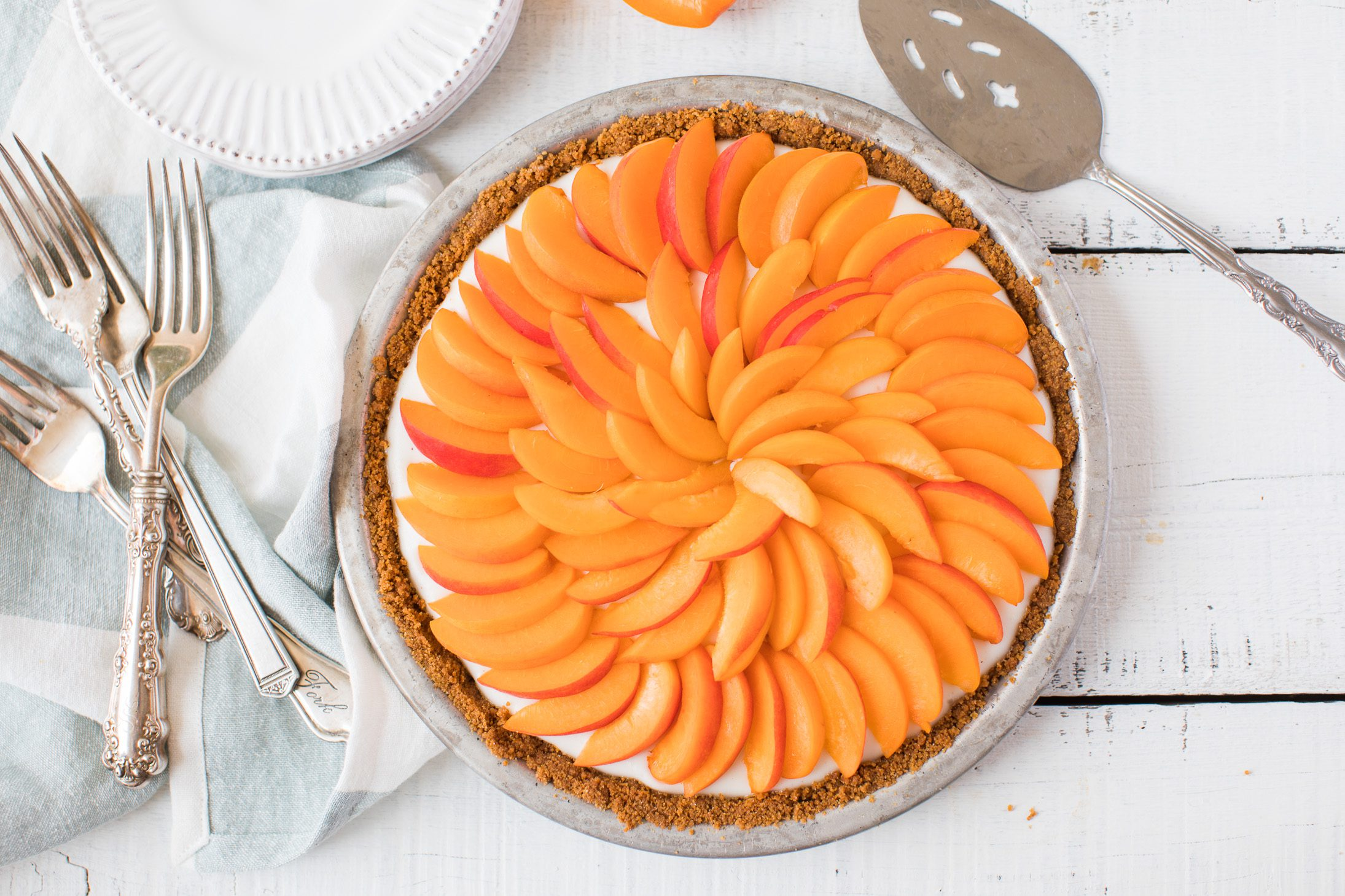 Jillian Harris Apricot Cream Pie Recipe
