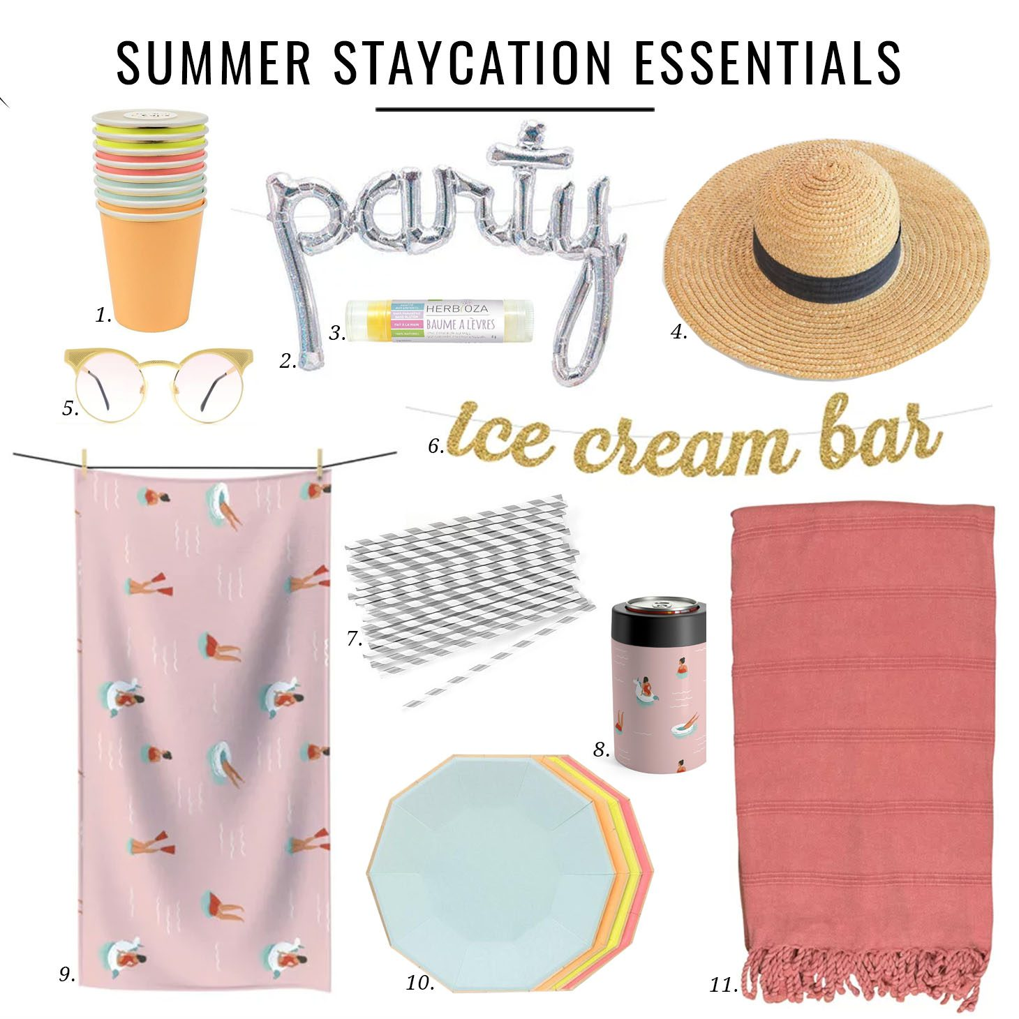 Jillian Harris Summer Staycation Essesntials