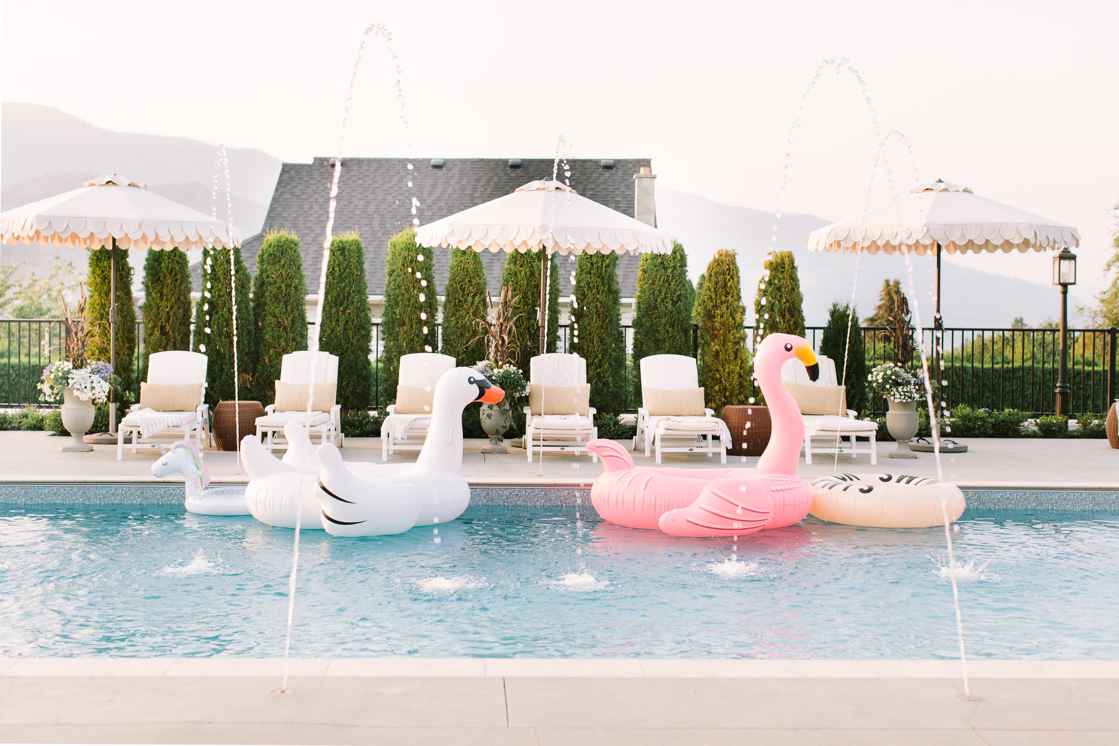 Jillian Harris Summer Sunshine Details on our Pool