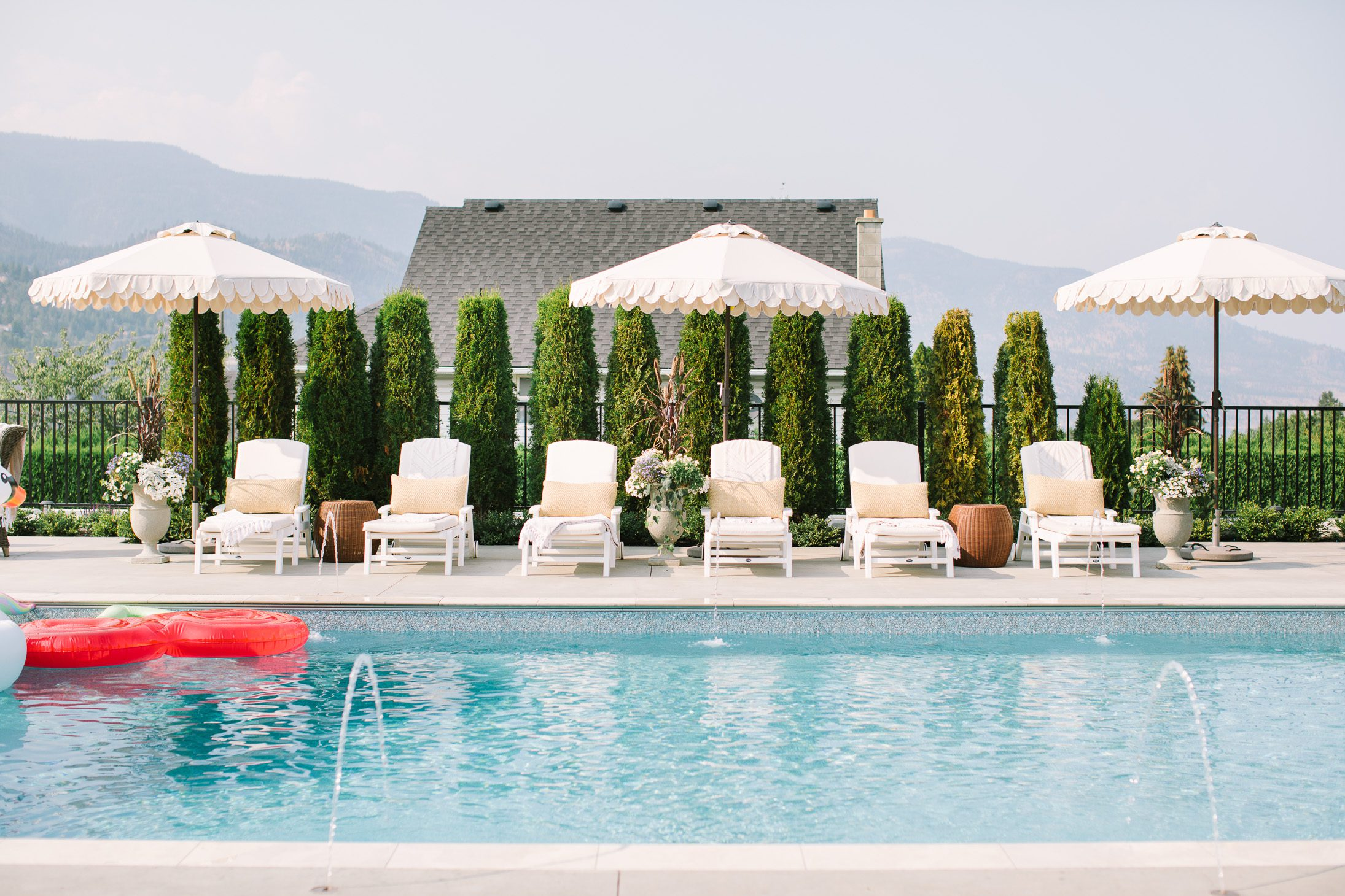 Jillian Harris Summer Sunshine Details on our Pool