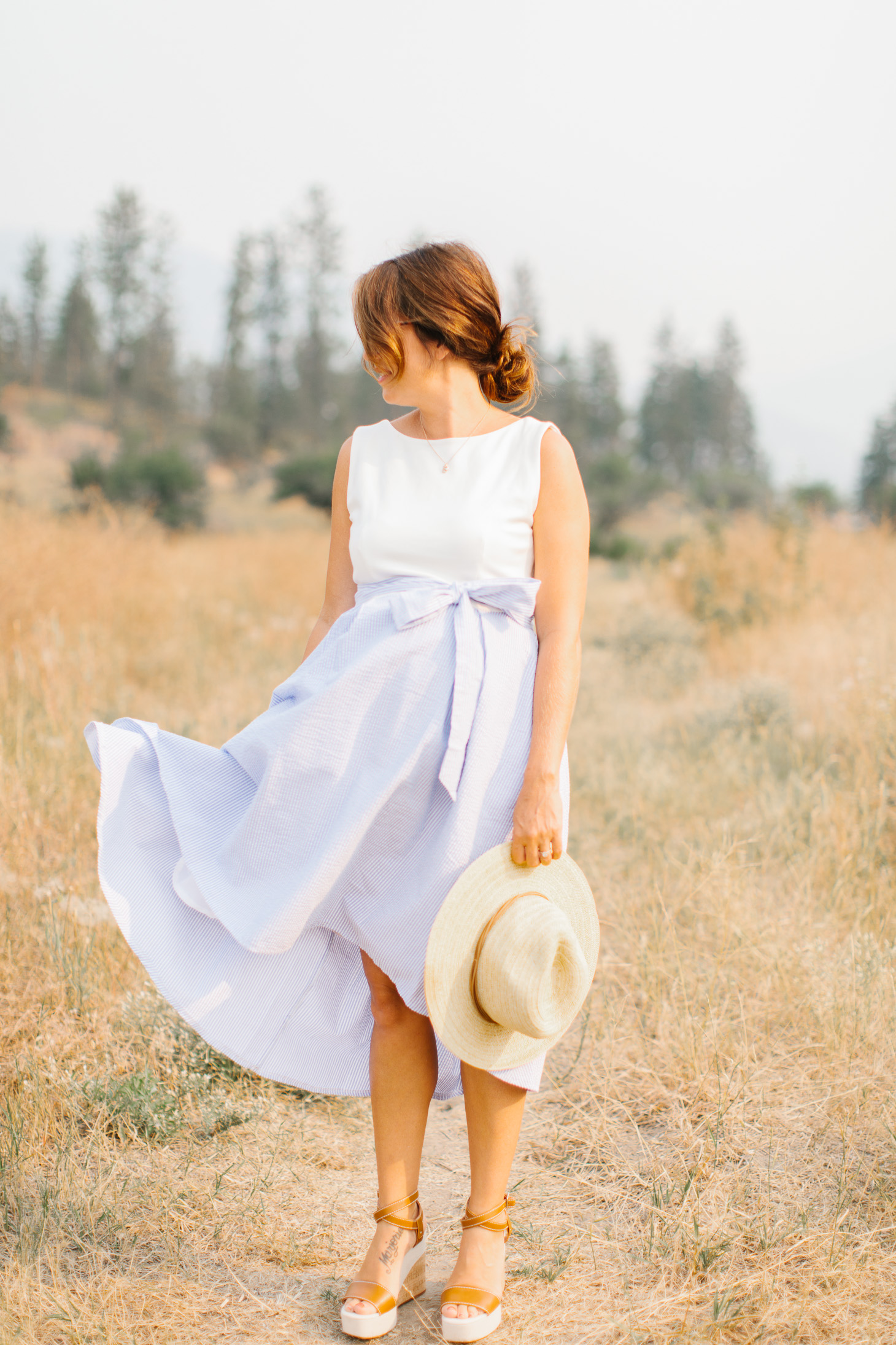 Jillian Harris What I Wear to the Farmers Market