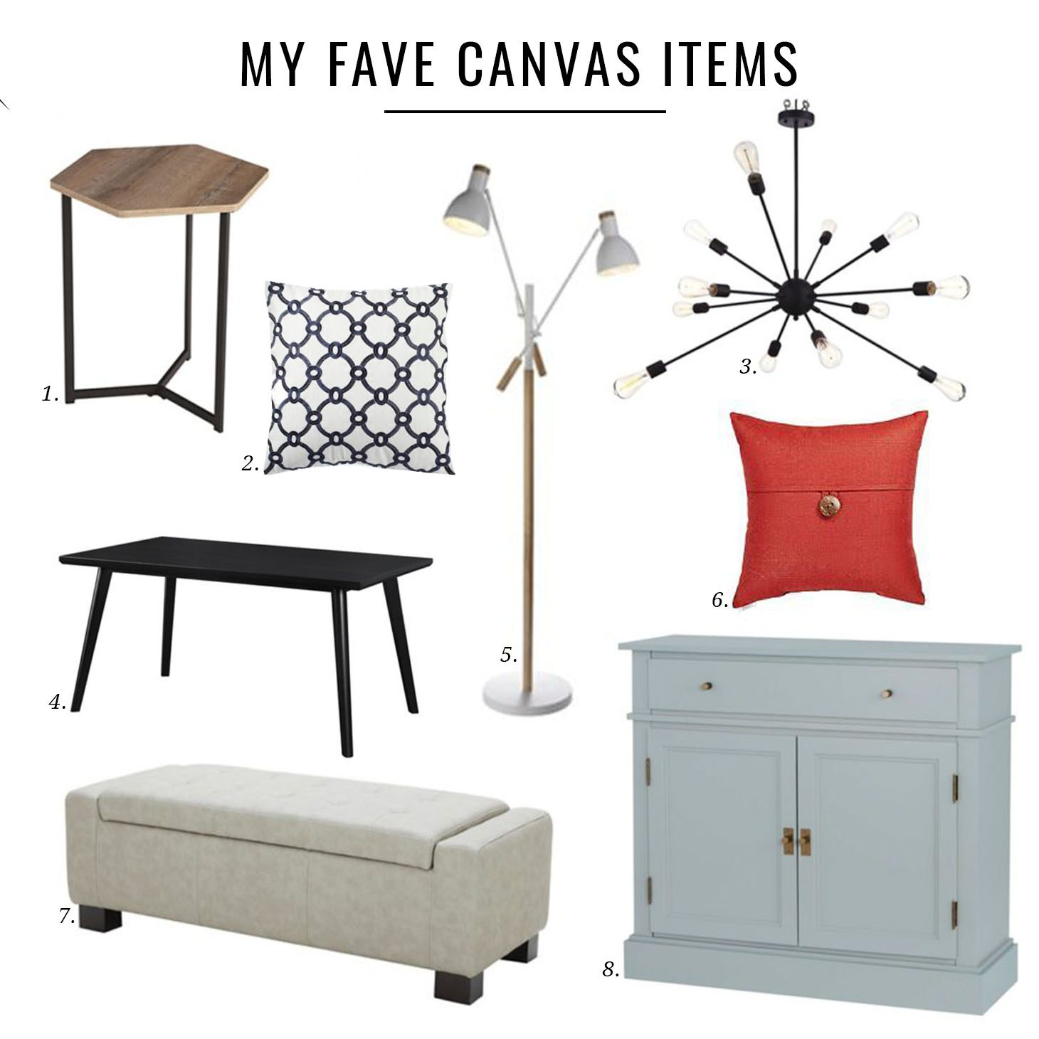 JILLIAN HARRIS X CANADIAN TIRE CANVAS