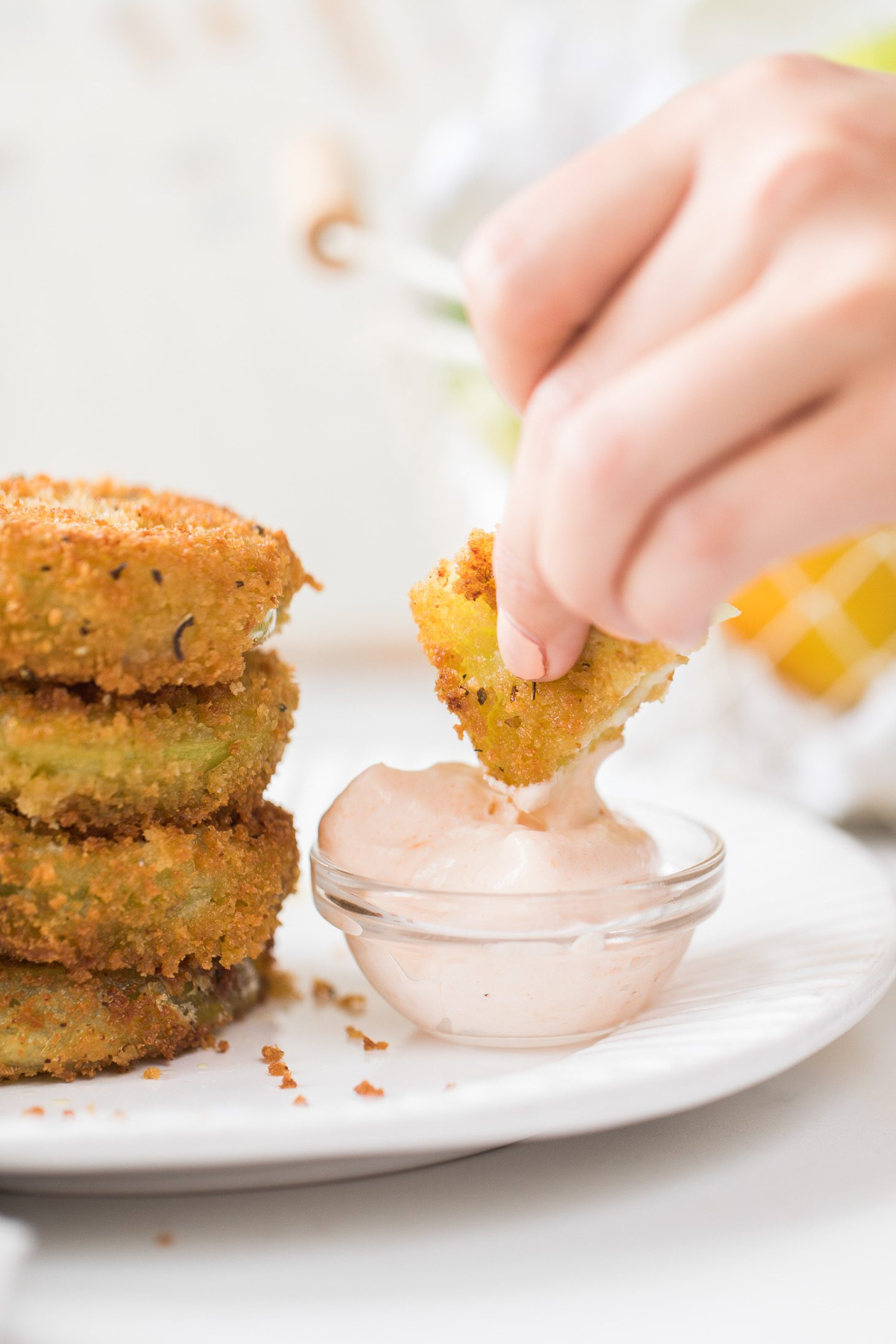 Jillian Harris Fried Green Tomatoes Recipe