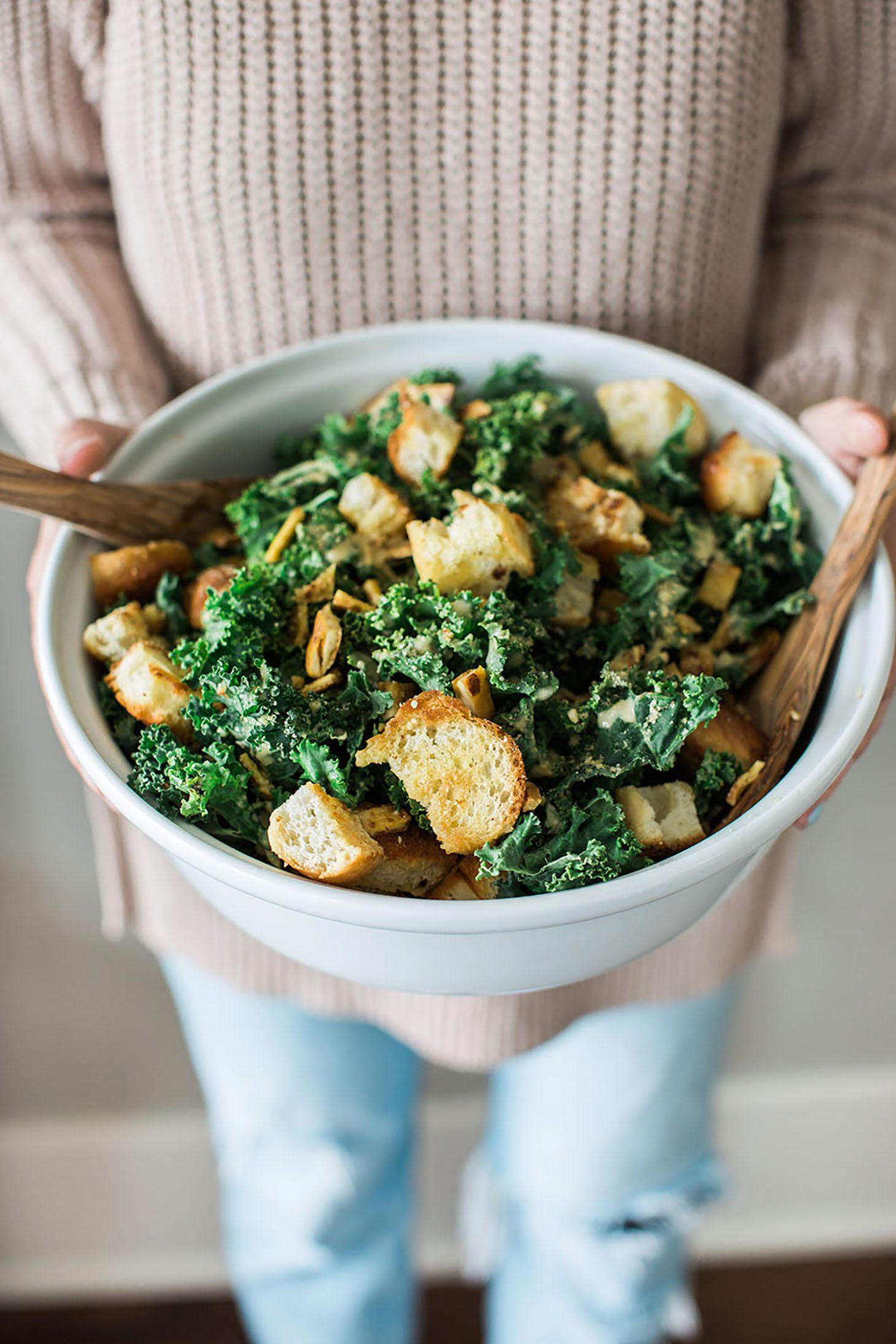 Jillian Harris Captain Kale Caesar Salad