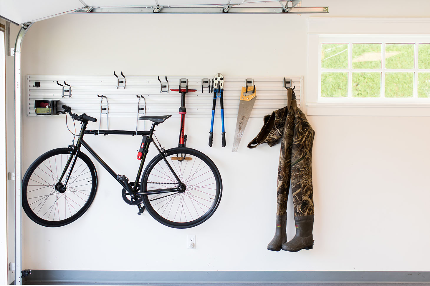 Jillian Harris Home Tour Series Garage