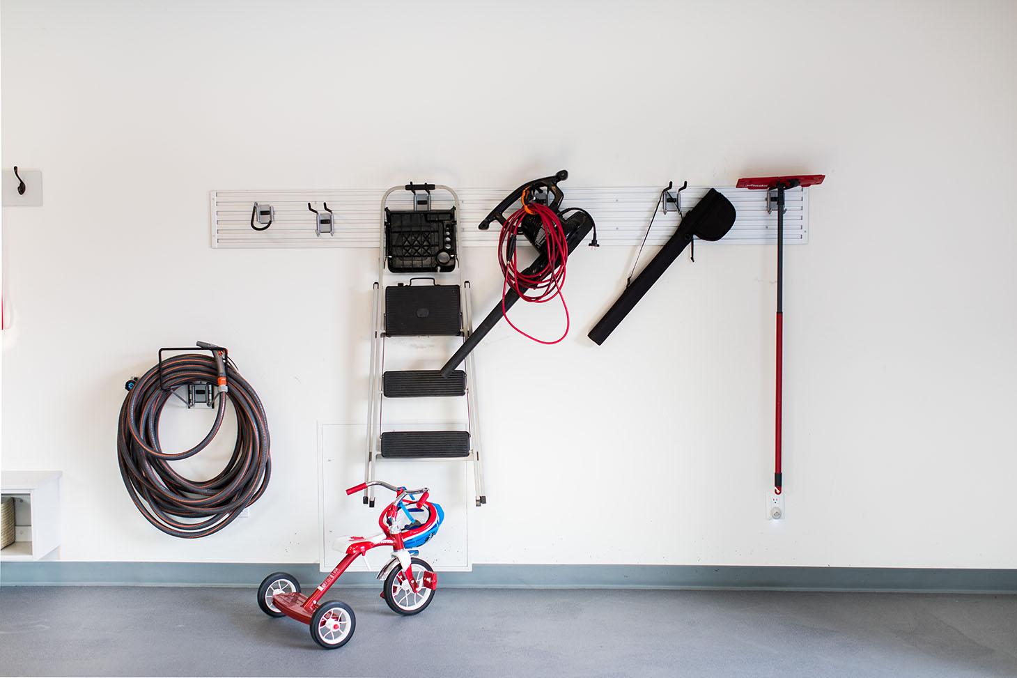 Jillian Harris Home Tour Series Garage