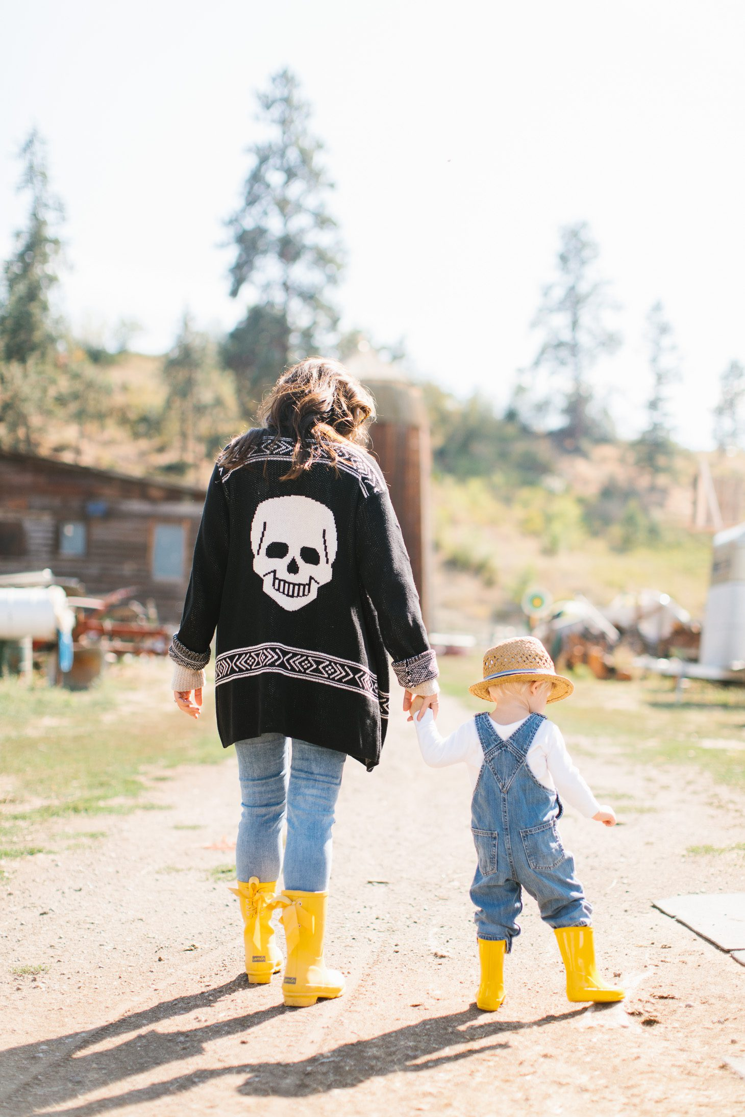 Jillian Harris Modcloth Skull Sweater