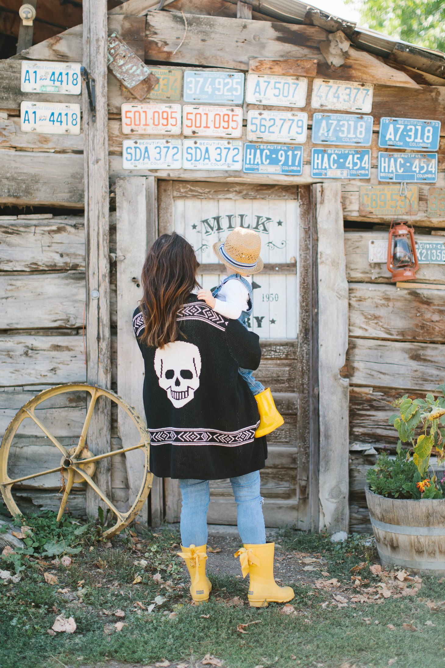 Jillian Harris Modcloth Skull Sweater