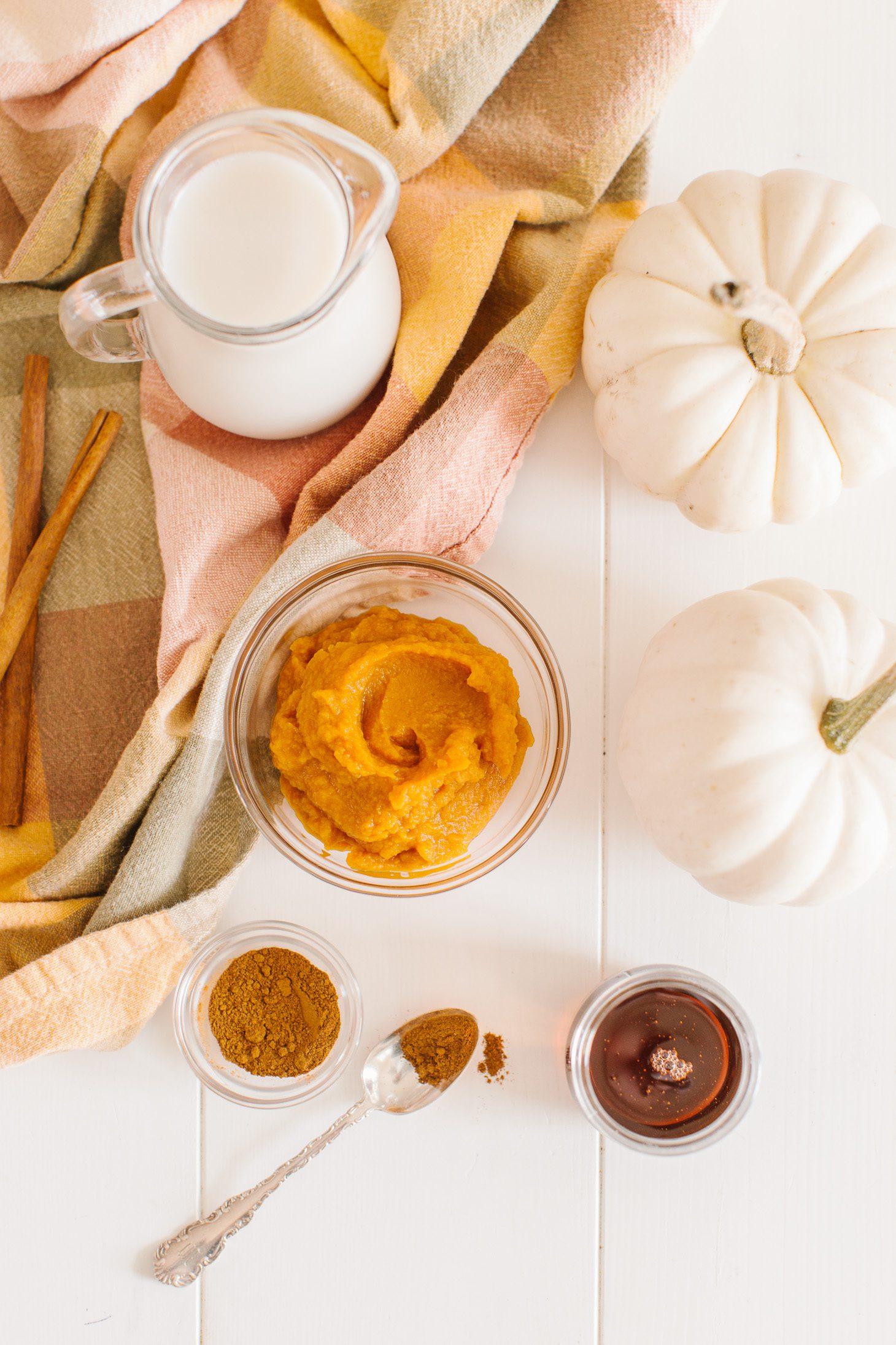 Jillian Harris Vegan Pumpkin Spice Latte